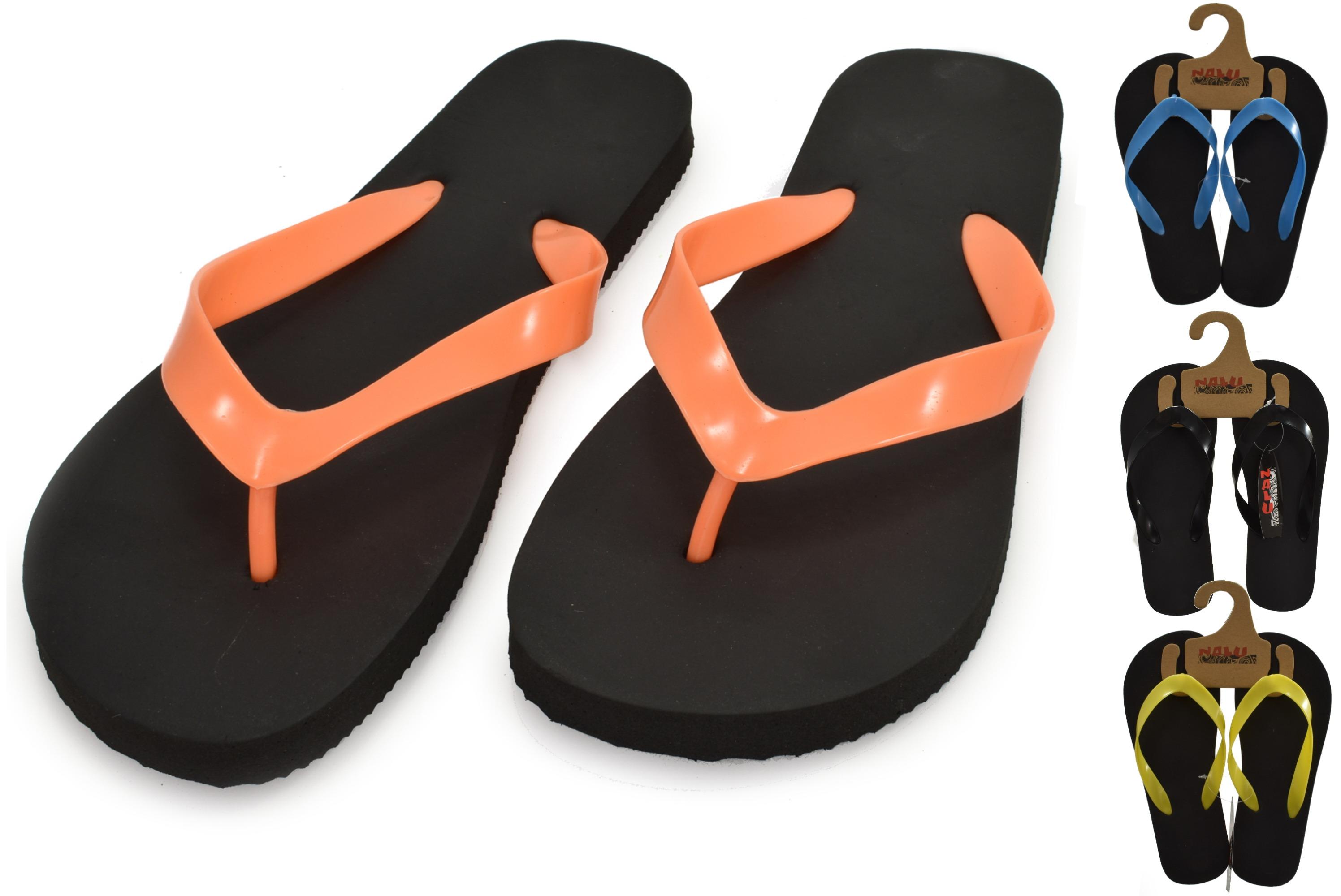 Flip Flop Adults Size 9 Plain Colour