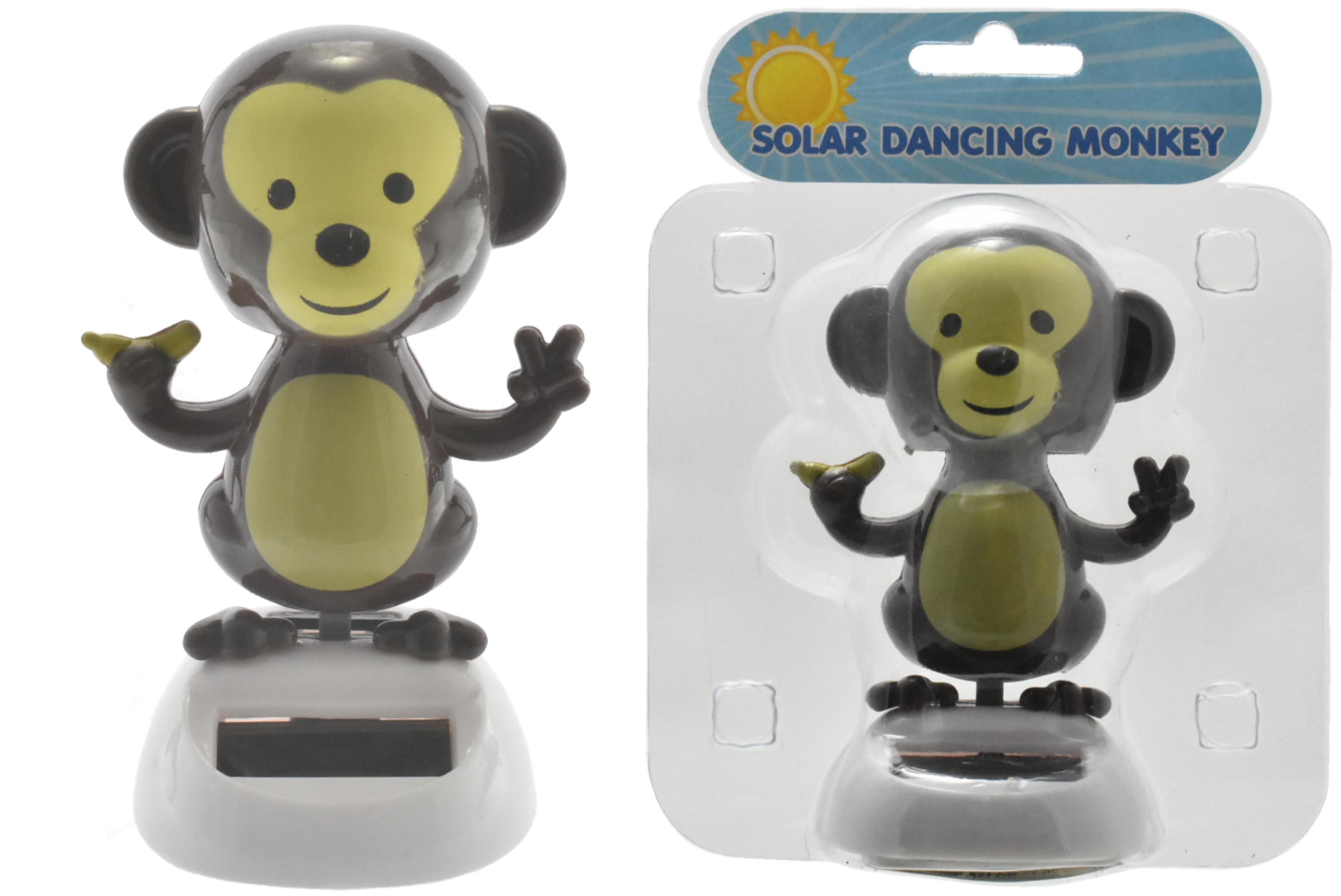Solar Dancing Monkey In Clamshell