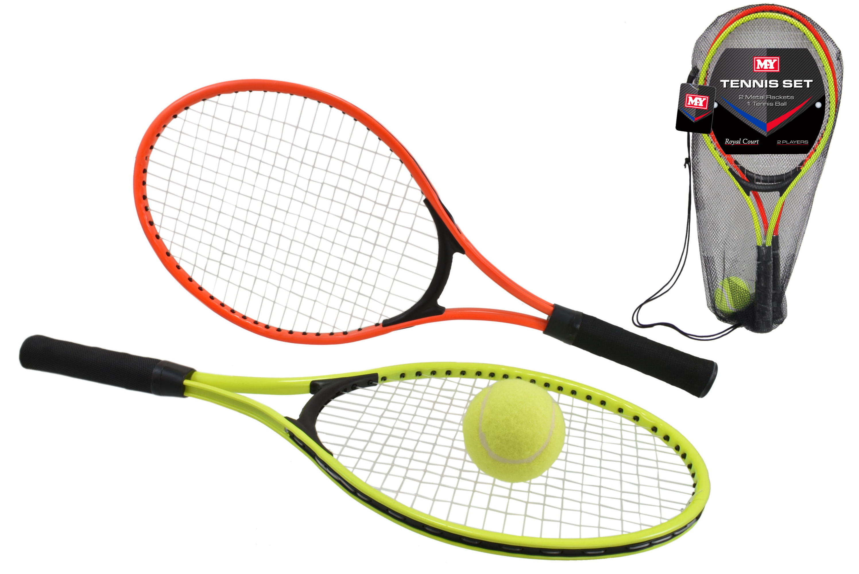 "2 Player Tennis Set In Carry Bag ""M.Y"""