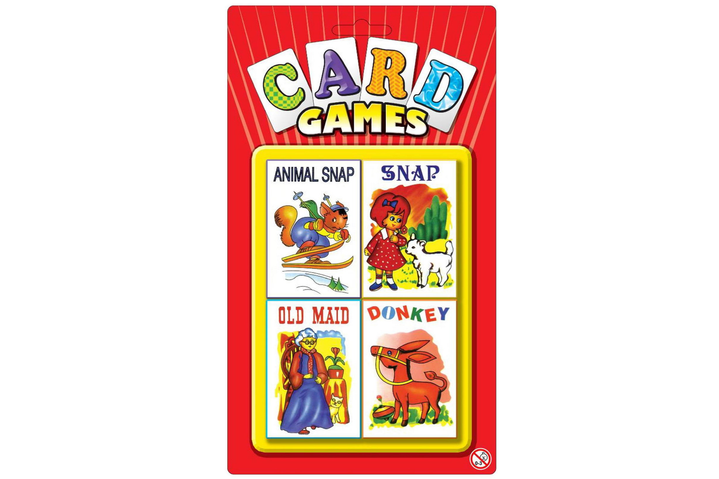 Childrens Playing Cards - Four Pack