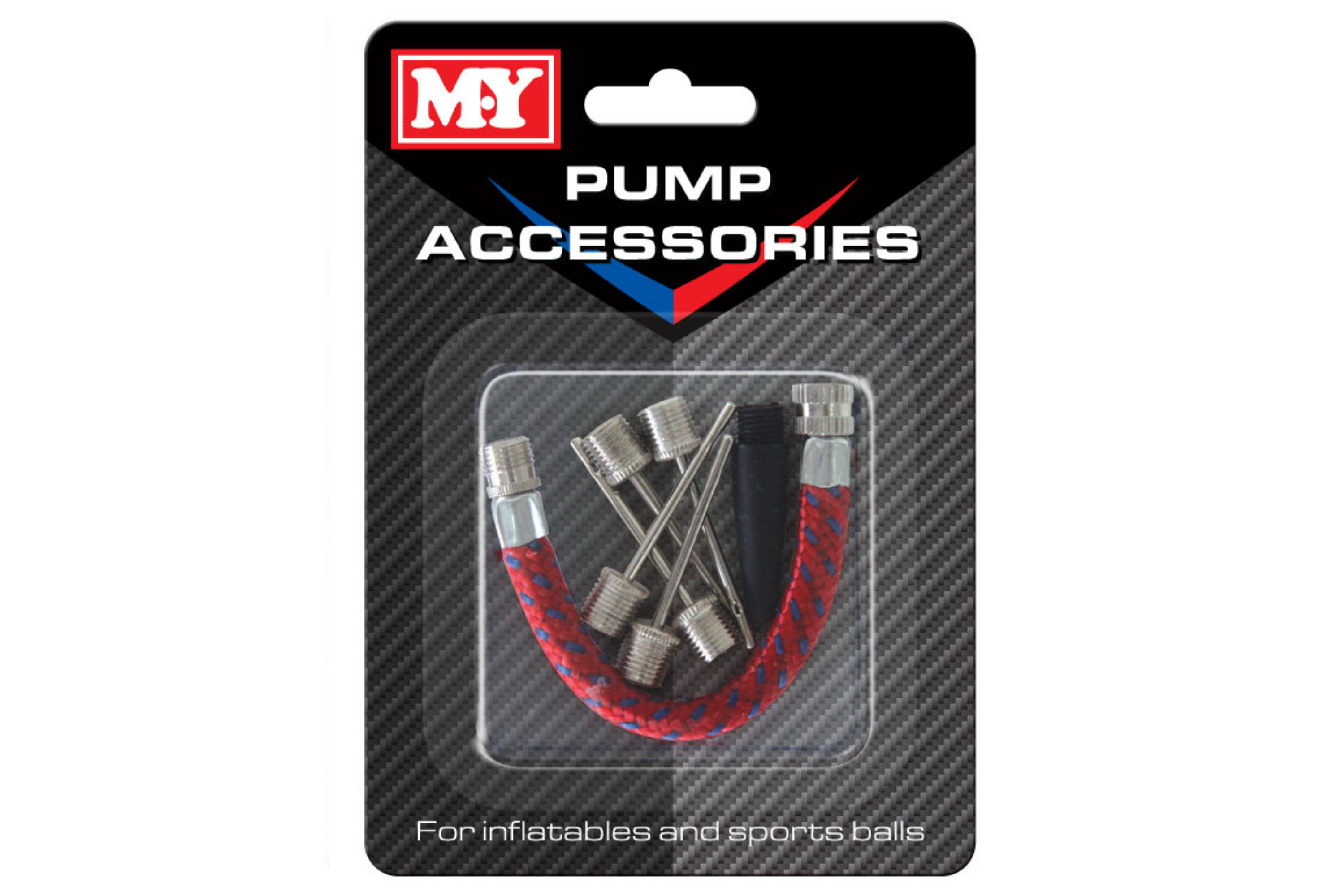 "Pump Accessories On Blistercard ""M.Y"""