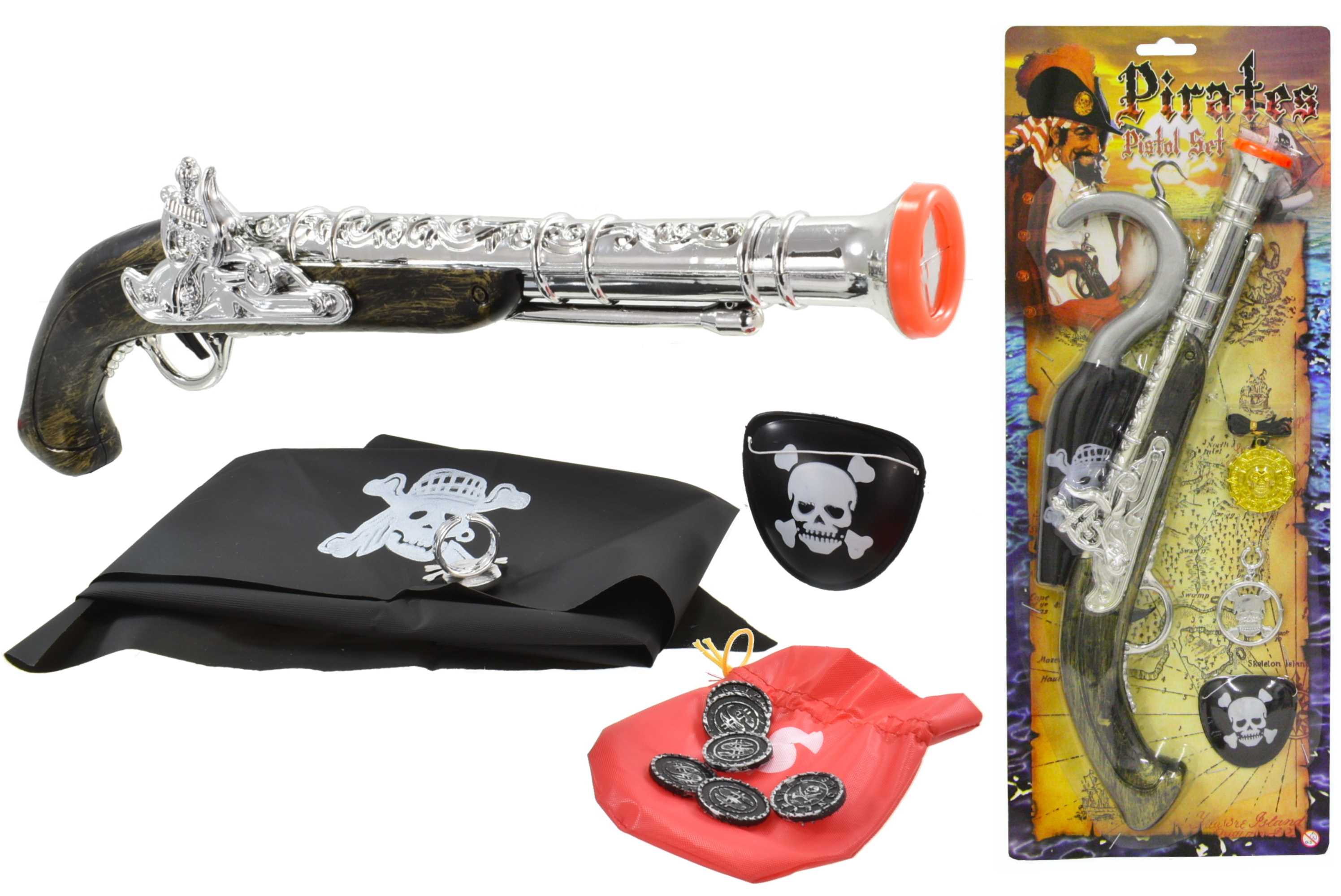 "Pirate Gun 2 Assorted - ""Pirates"""