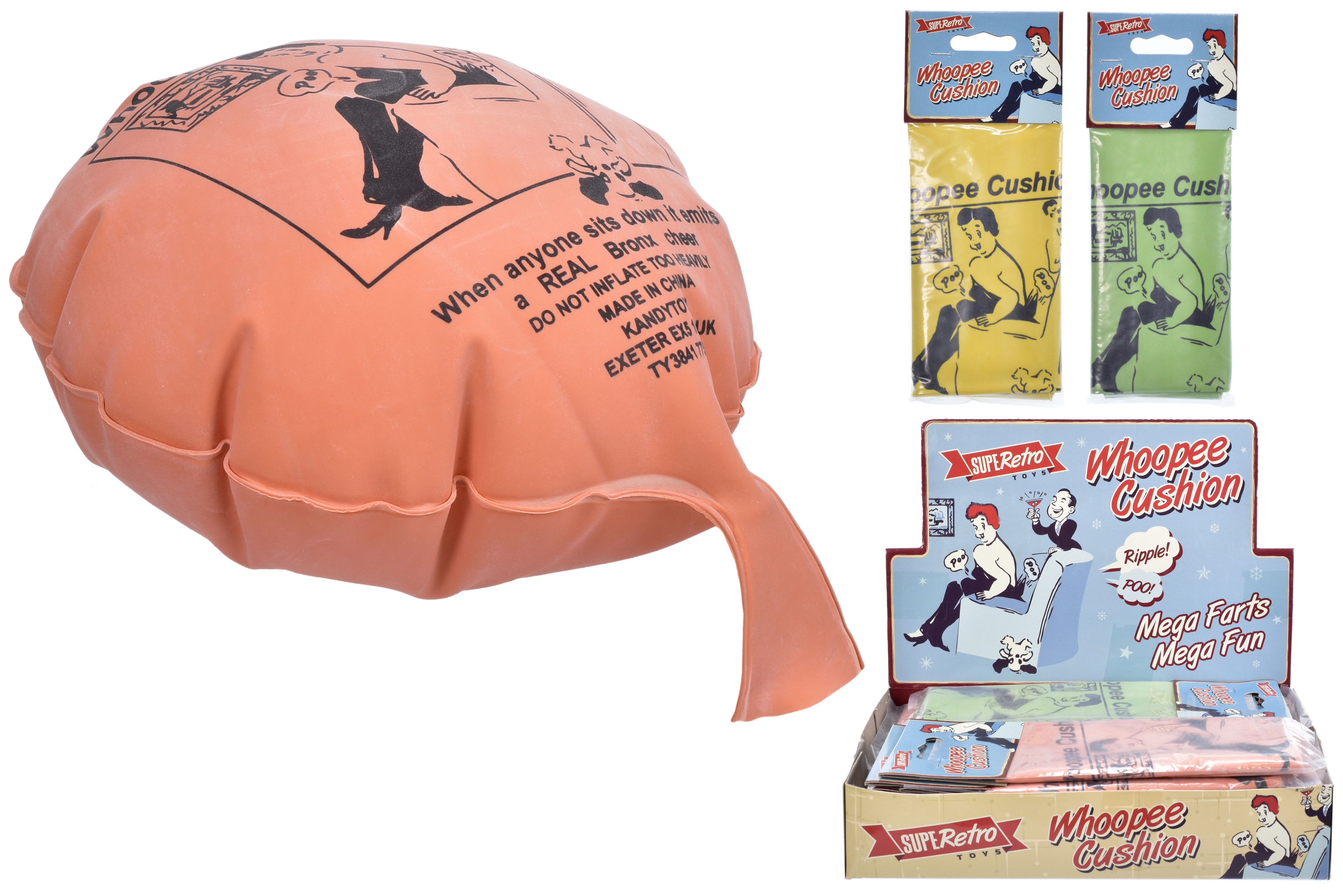 "Whoopee Cushion (Bag/Header) In D/Box - ""Retro"""