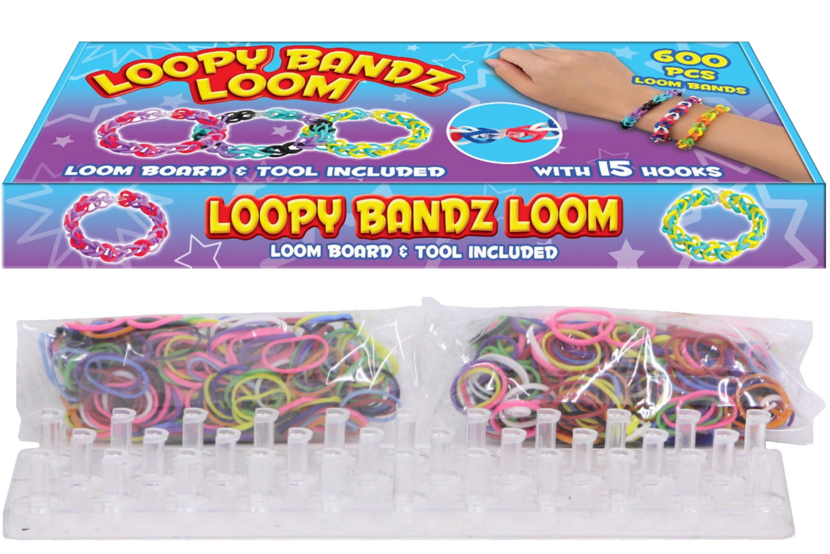 Loomy Bandz Loom With Bands & Accessories