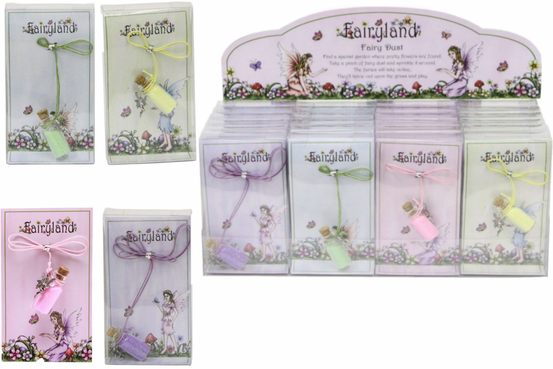 Fairyland Fairy Dust (4 Assorted) In Acetate Box