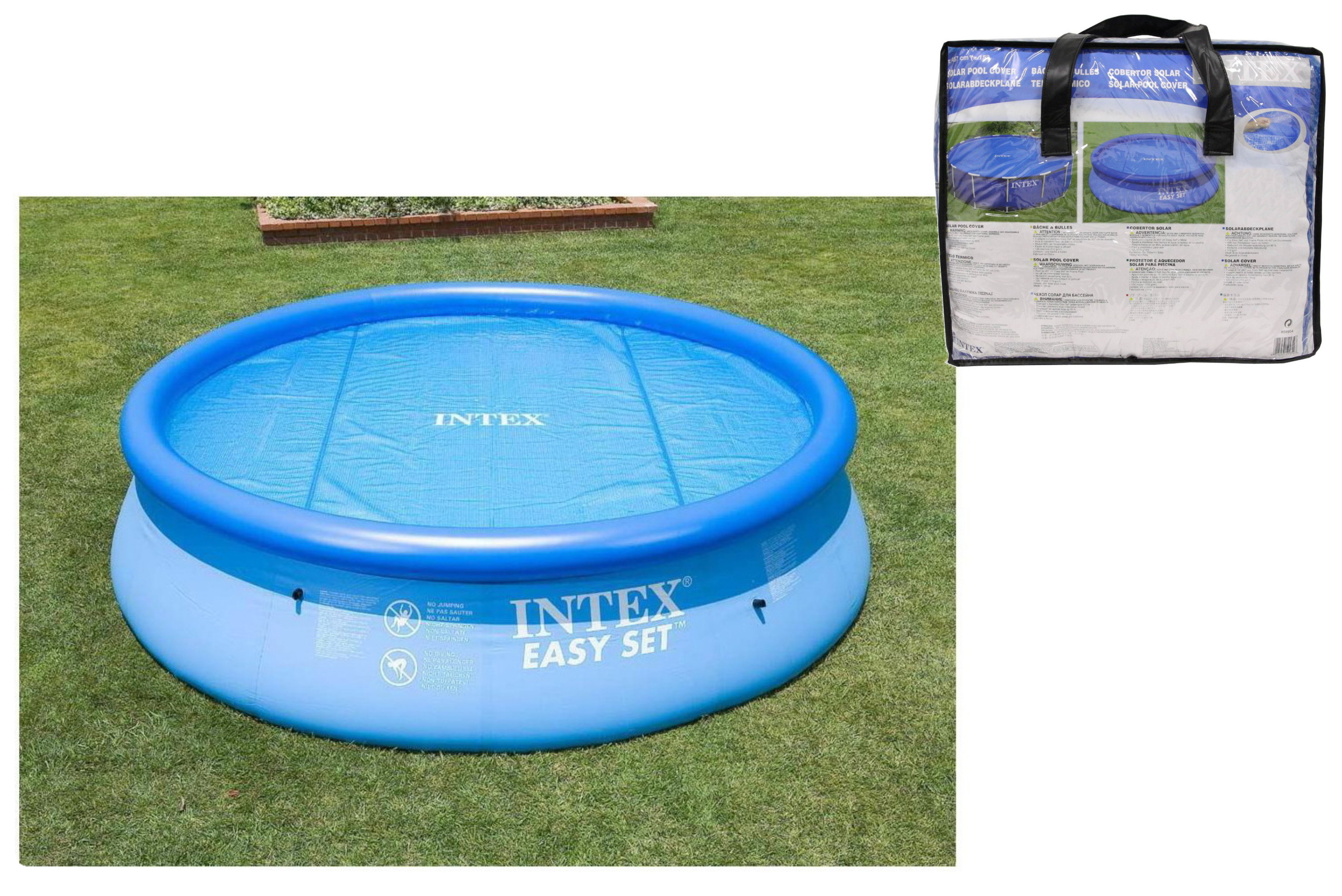 Solar Pool Cover For 15' Pools - Thick Micron Material
