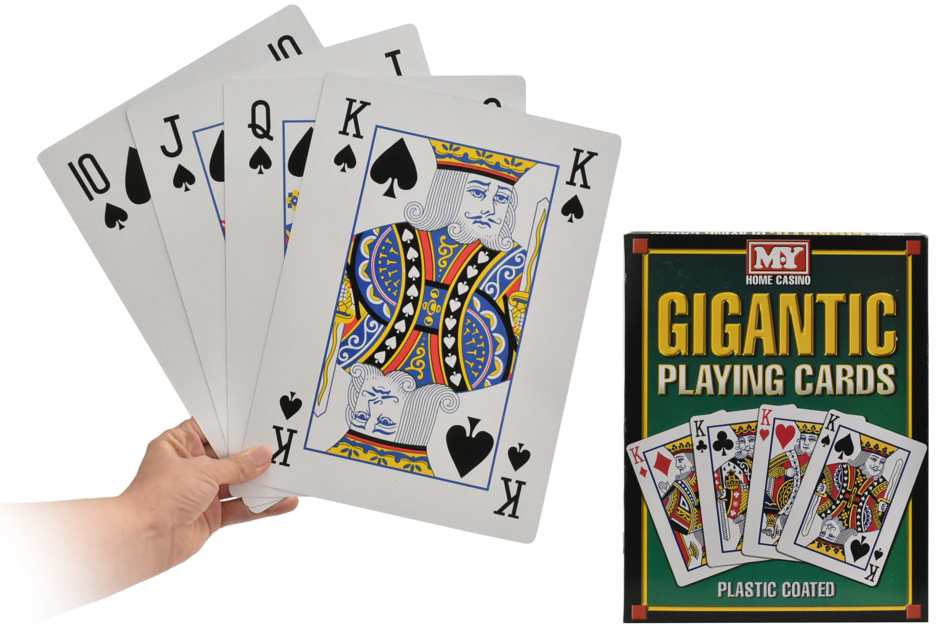 """Giant Playing Cards A4 Size """"M.Y"""""""