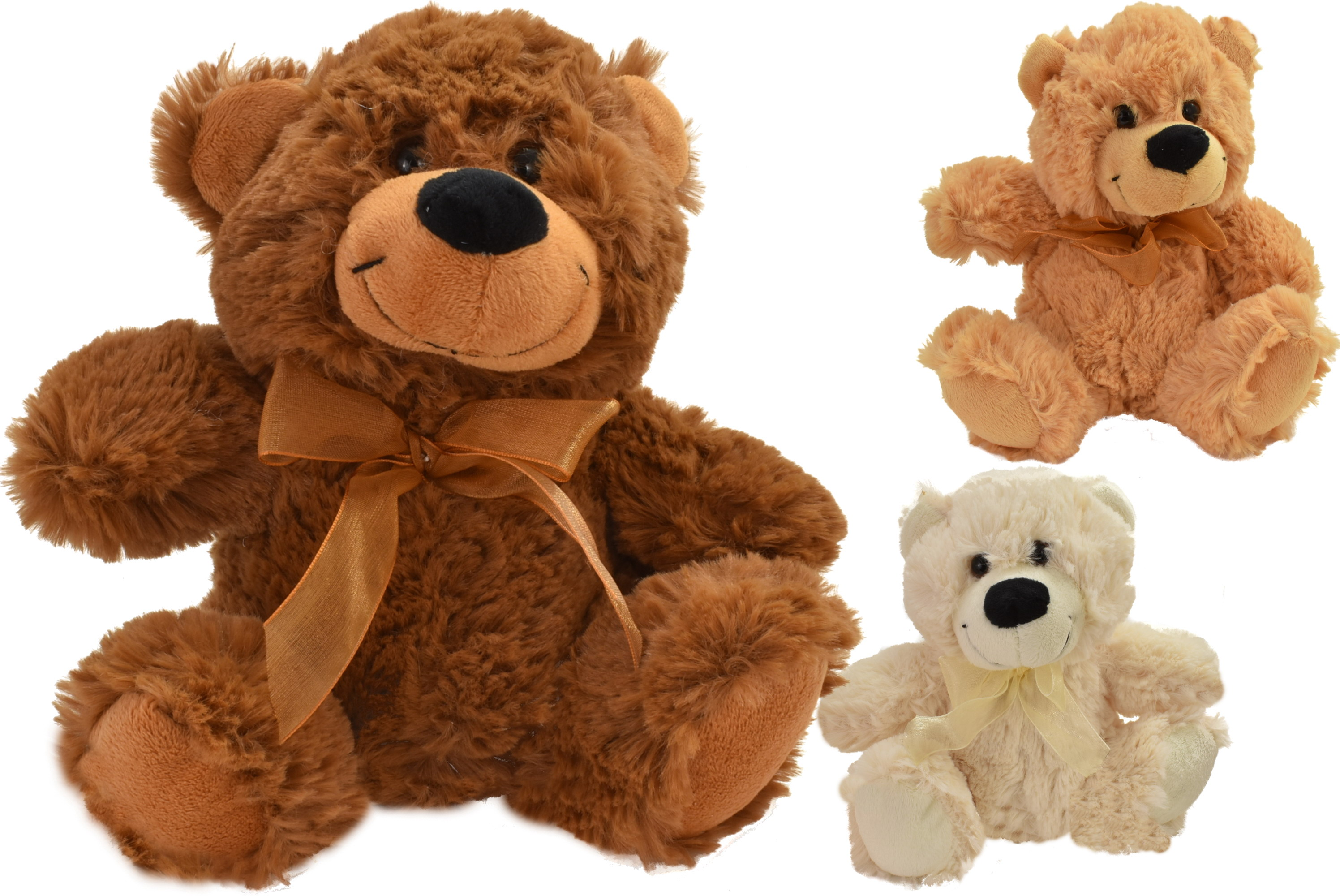 18cm Colour Bear 3 Assorted