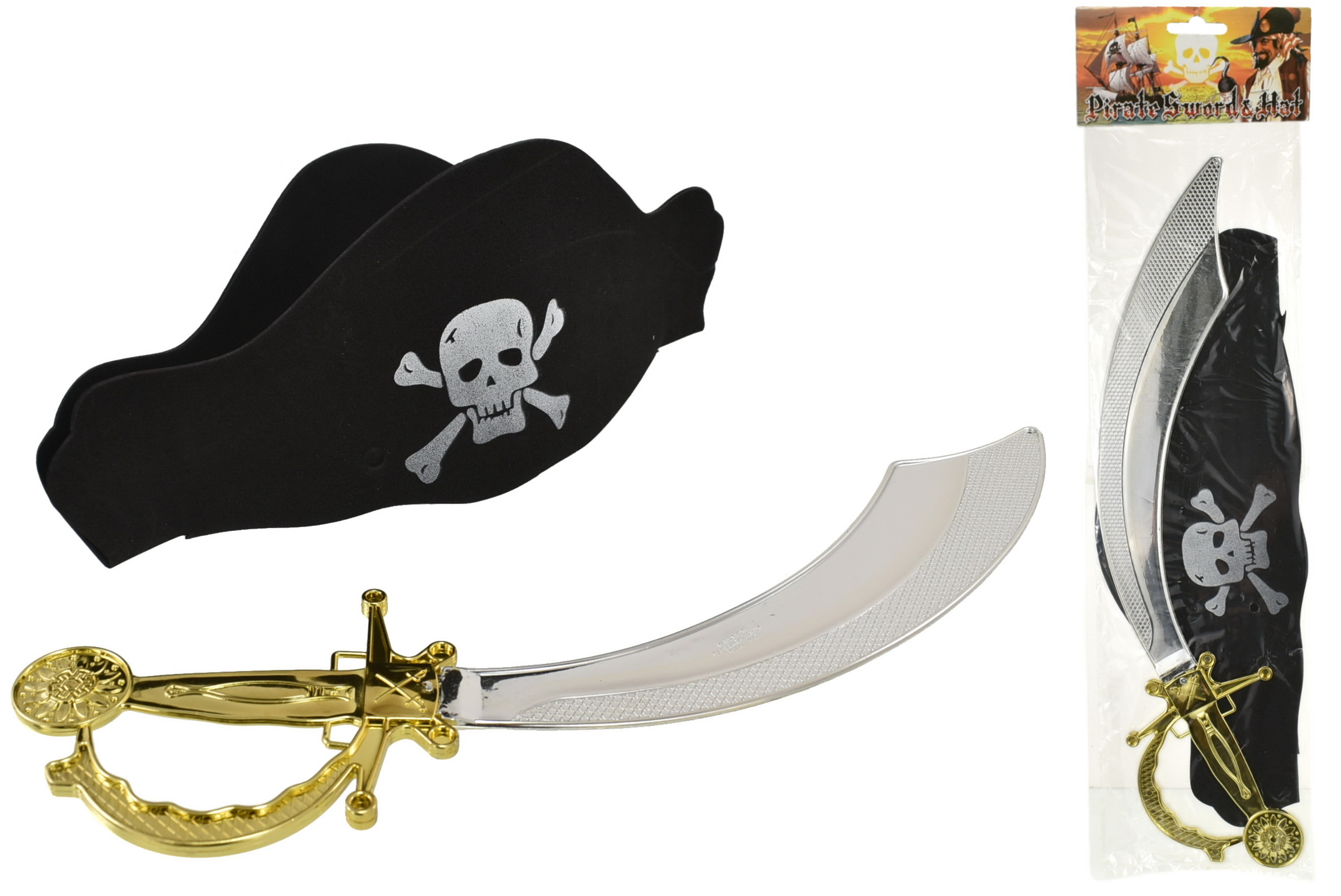 Pirate Hat & Sword Playset
