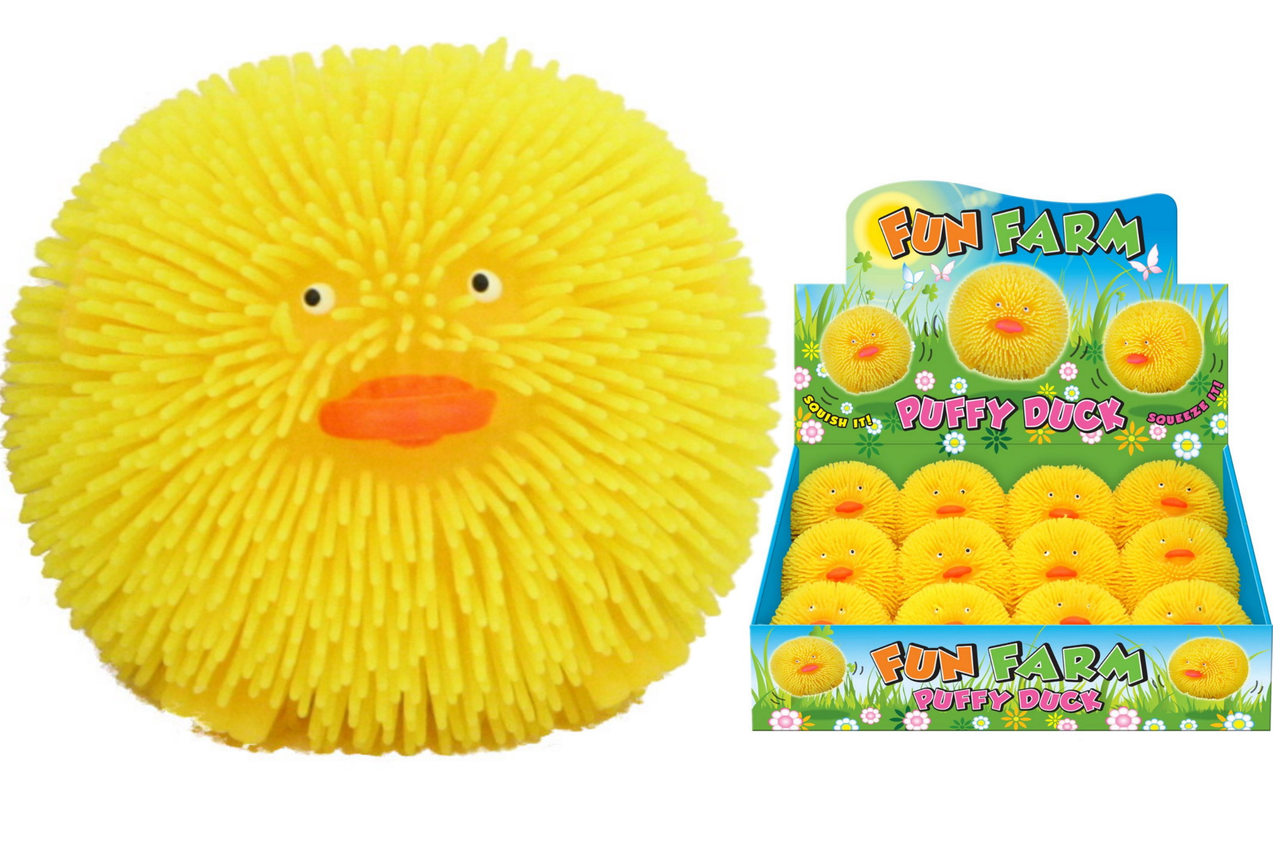 Puffy Duck In Display Box