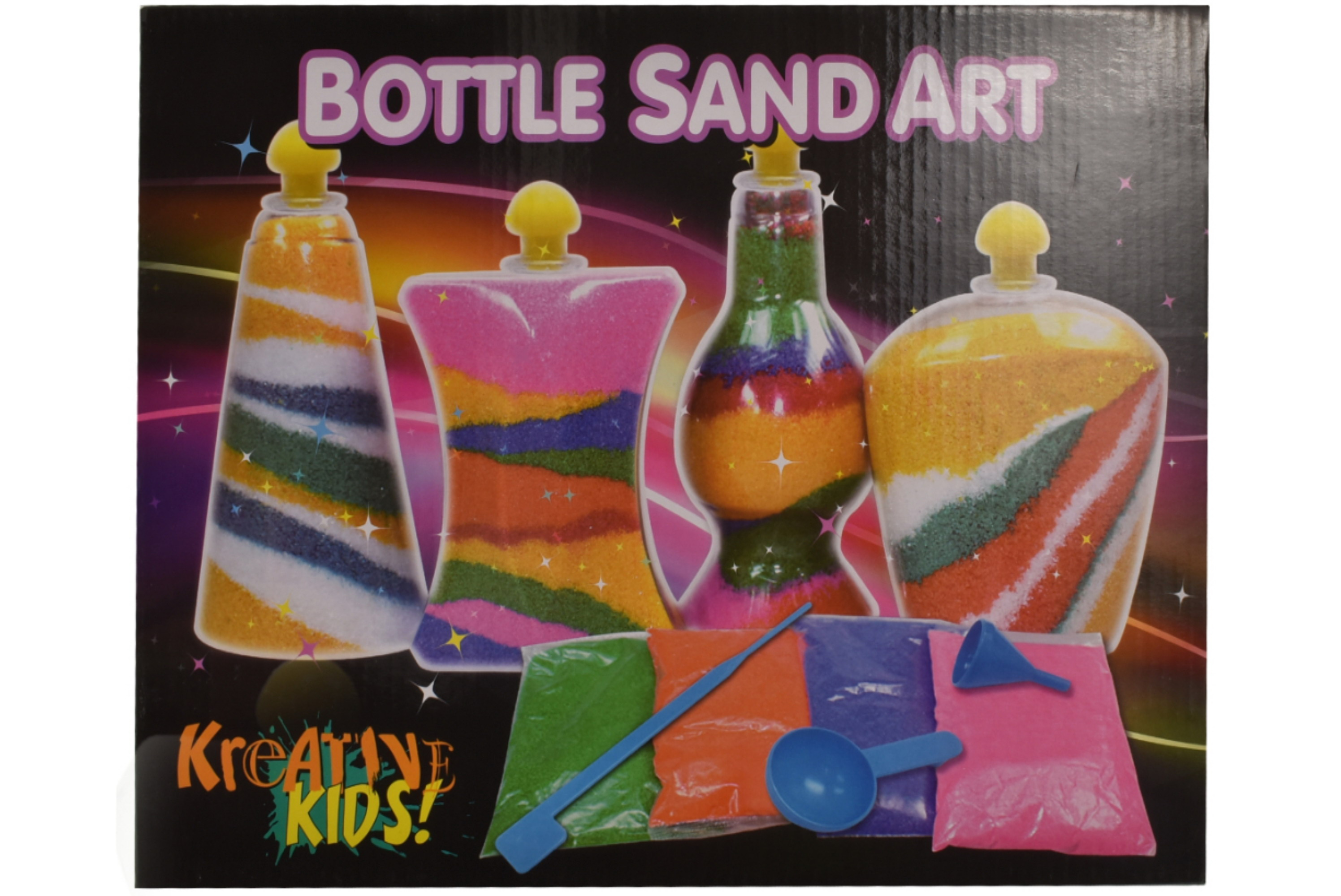 Bottle Sand Art (Colour Box)