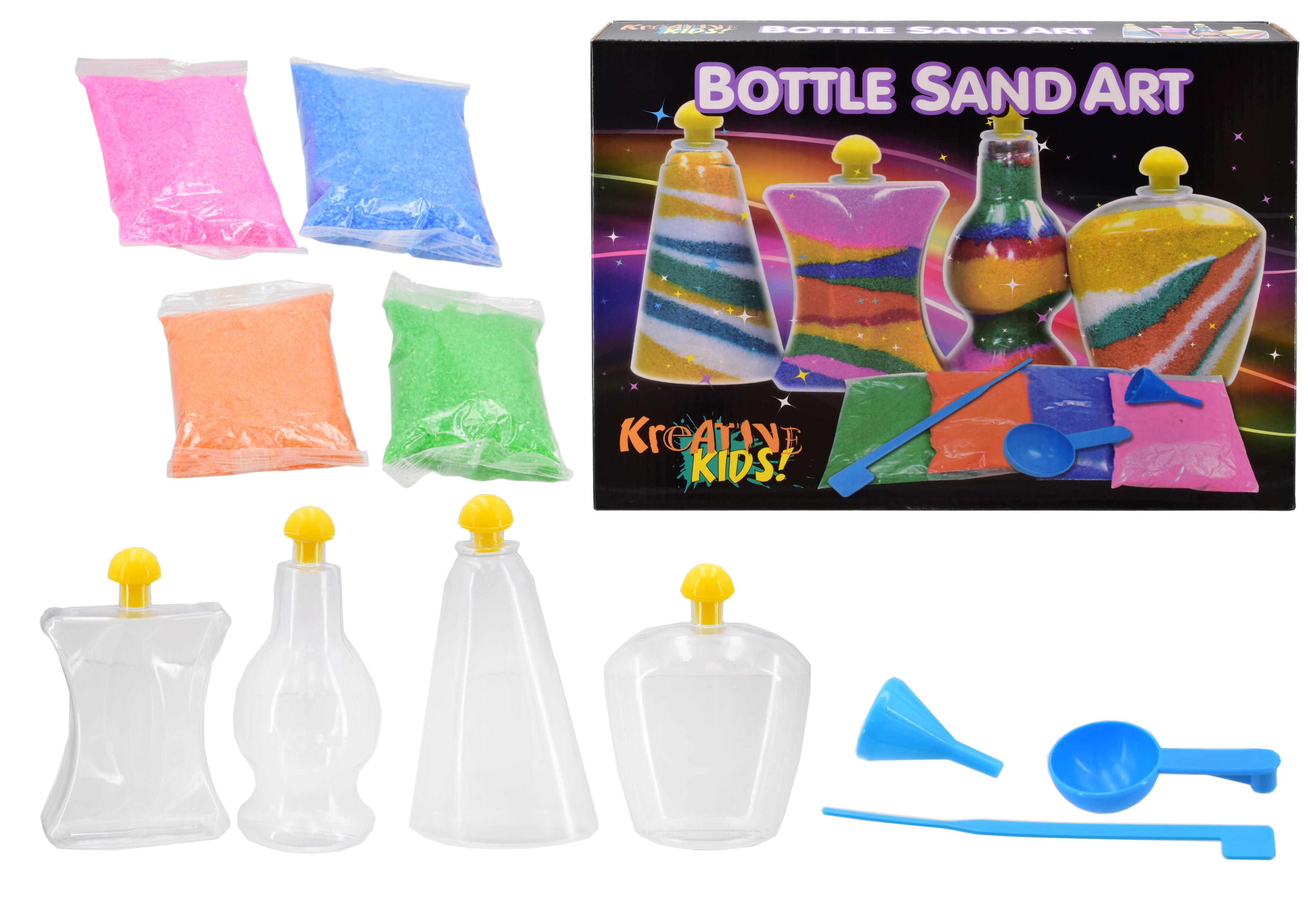 Bottle Sand Art (Colour Box)