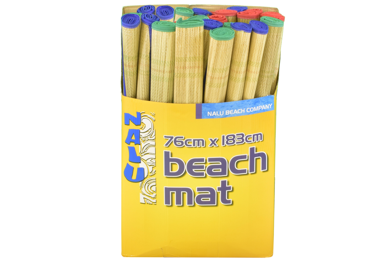 """30"""" x 72"""" Premium Grade Beach Mat In Display Box"""