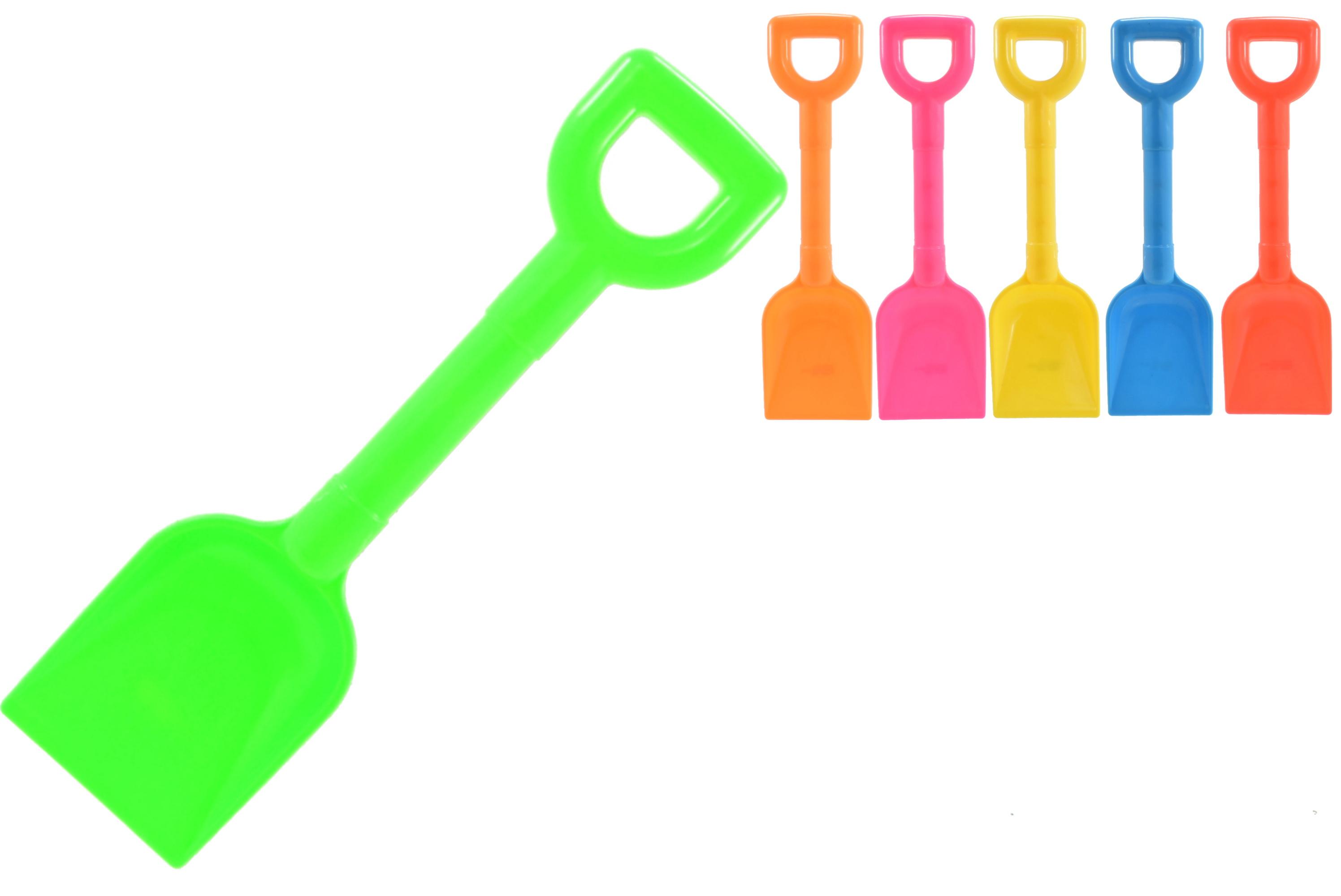 "10"" Plastic ""Scoop"" Spade 4 Assorted Colours"