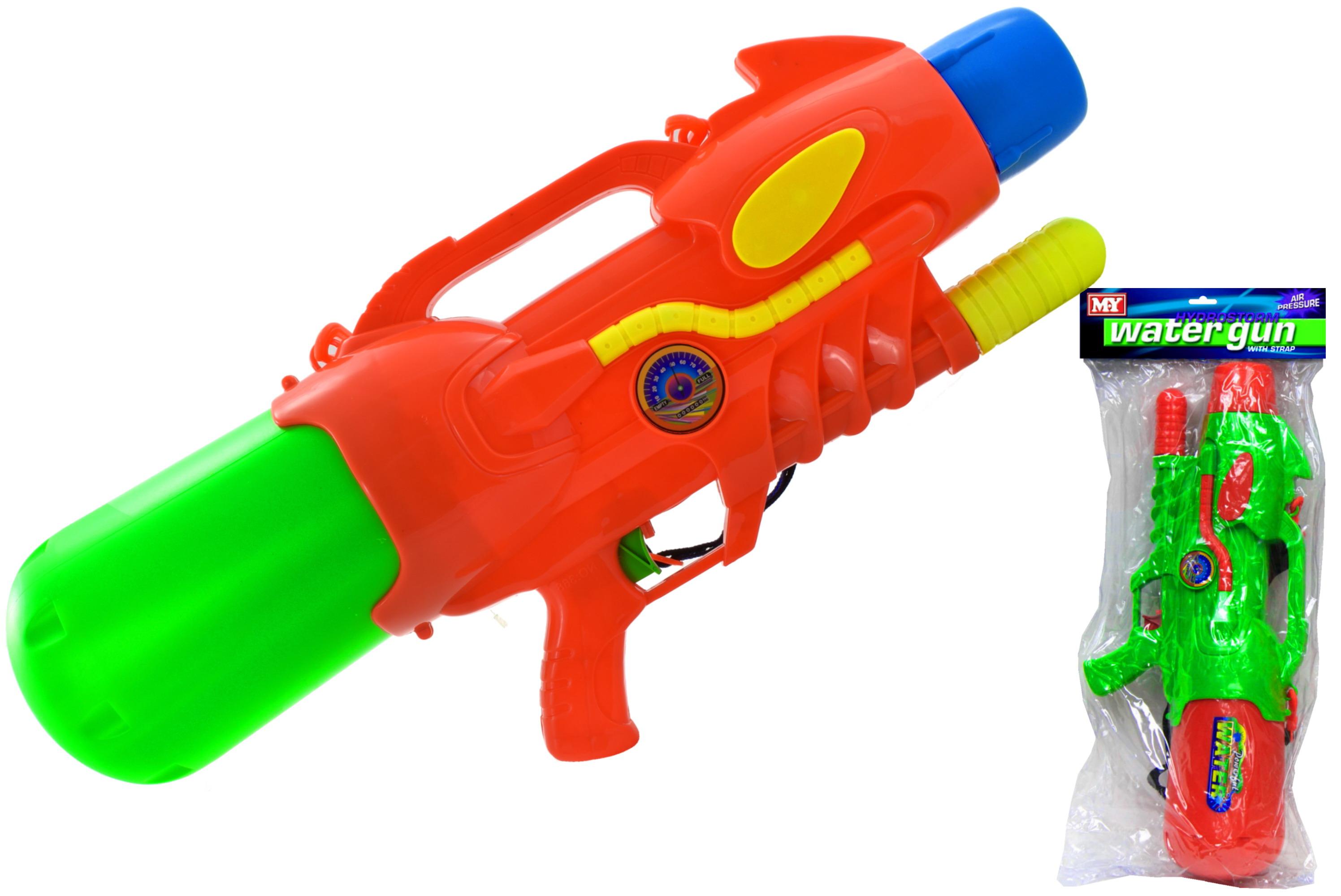 60cm Air Pressure Water Gun With Strap In Pvc Bag