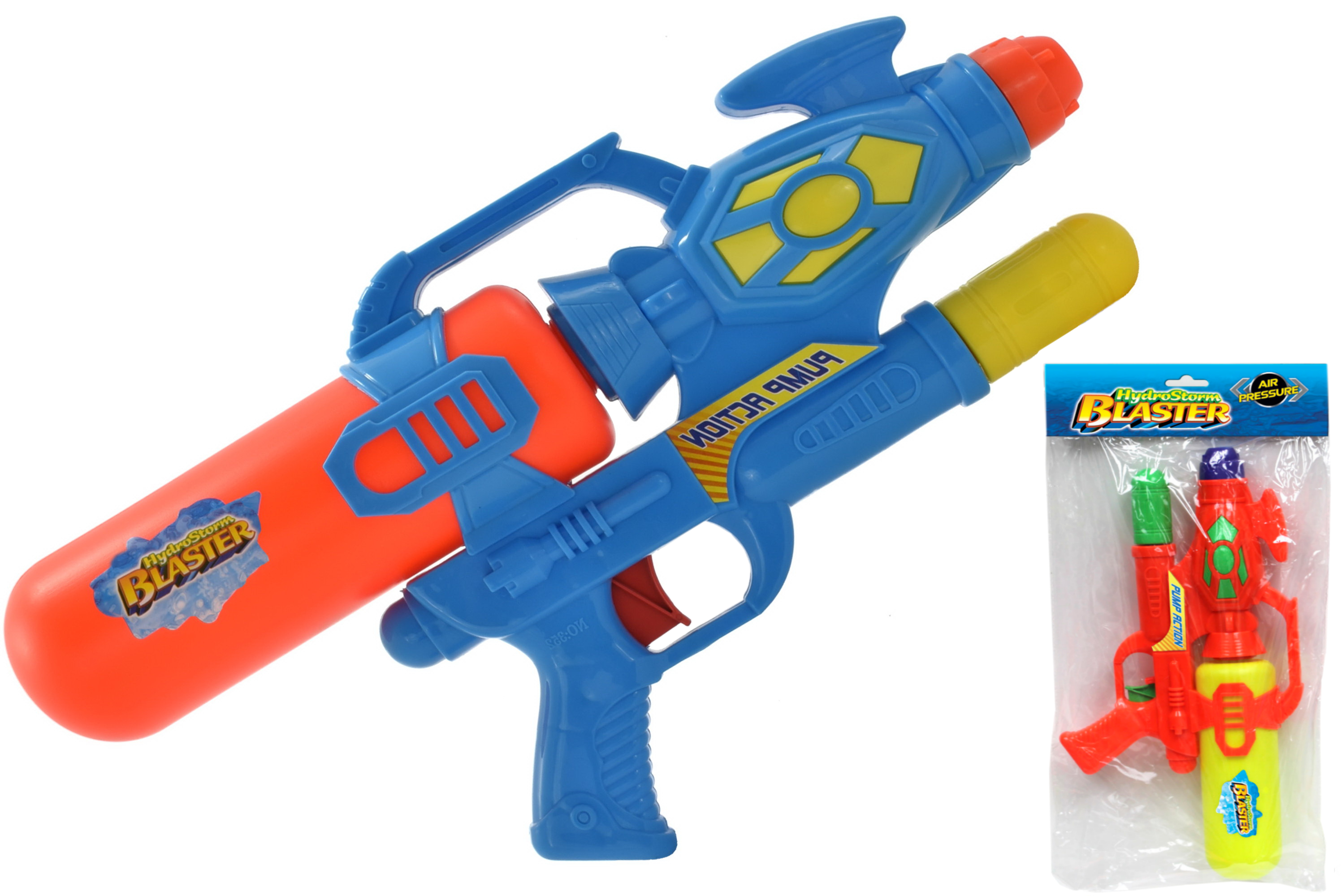 43cm Air Pressue Water Gun In Poly Bag Header