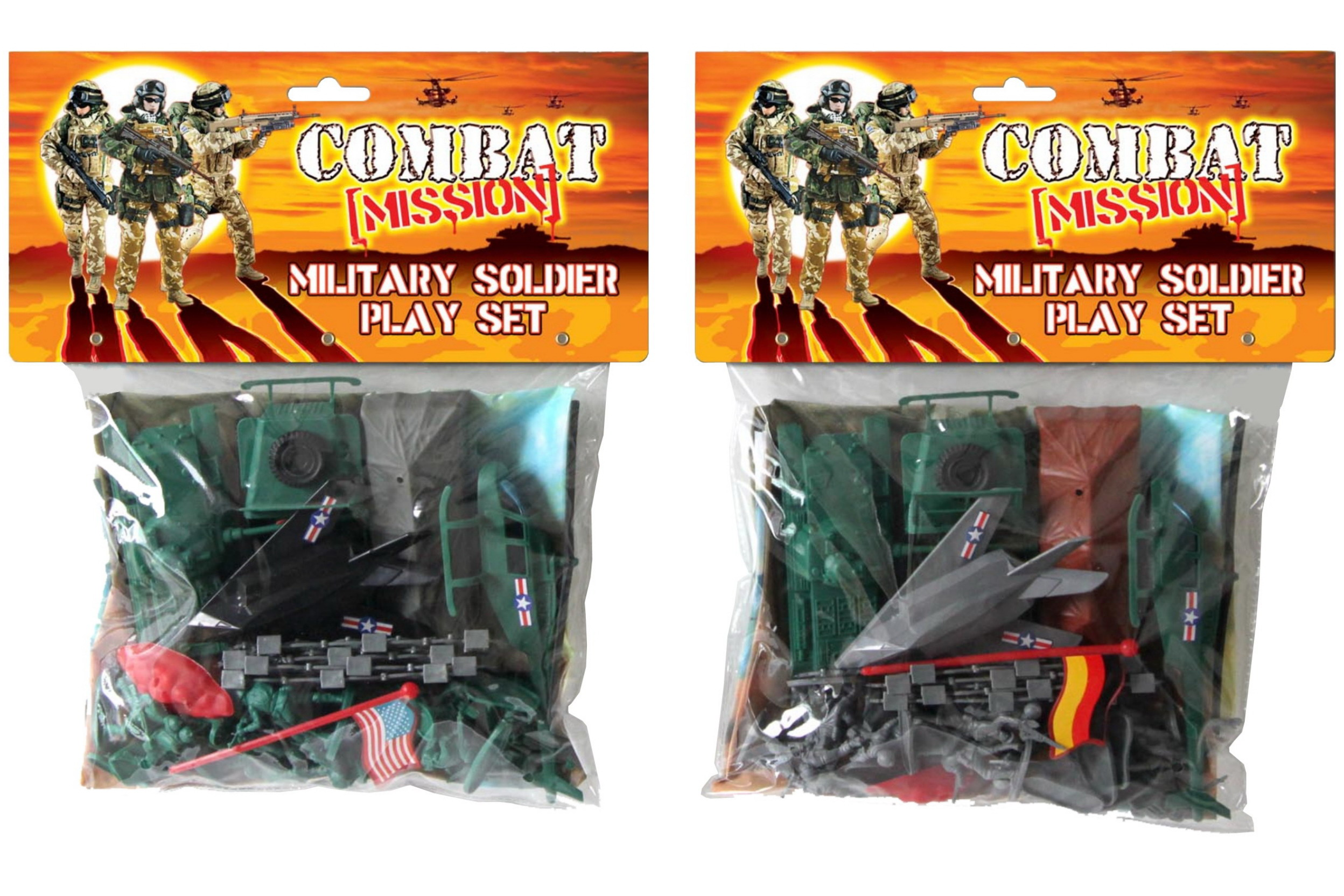 Military Soldier Play Set - Combat Mission