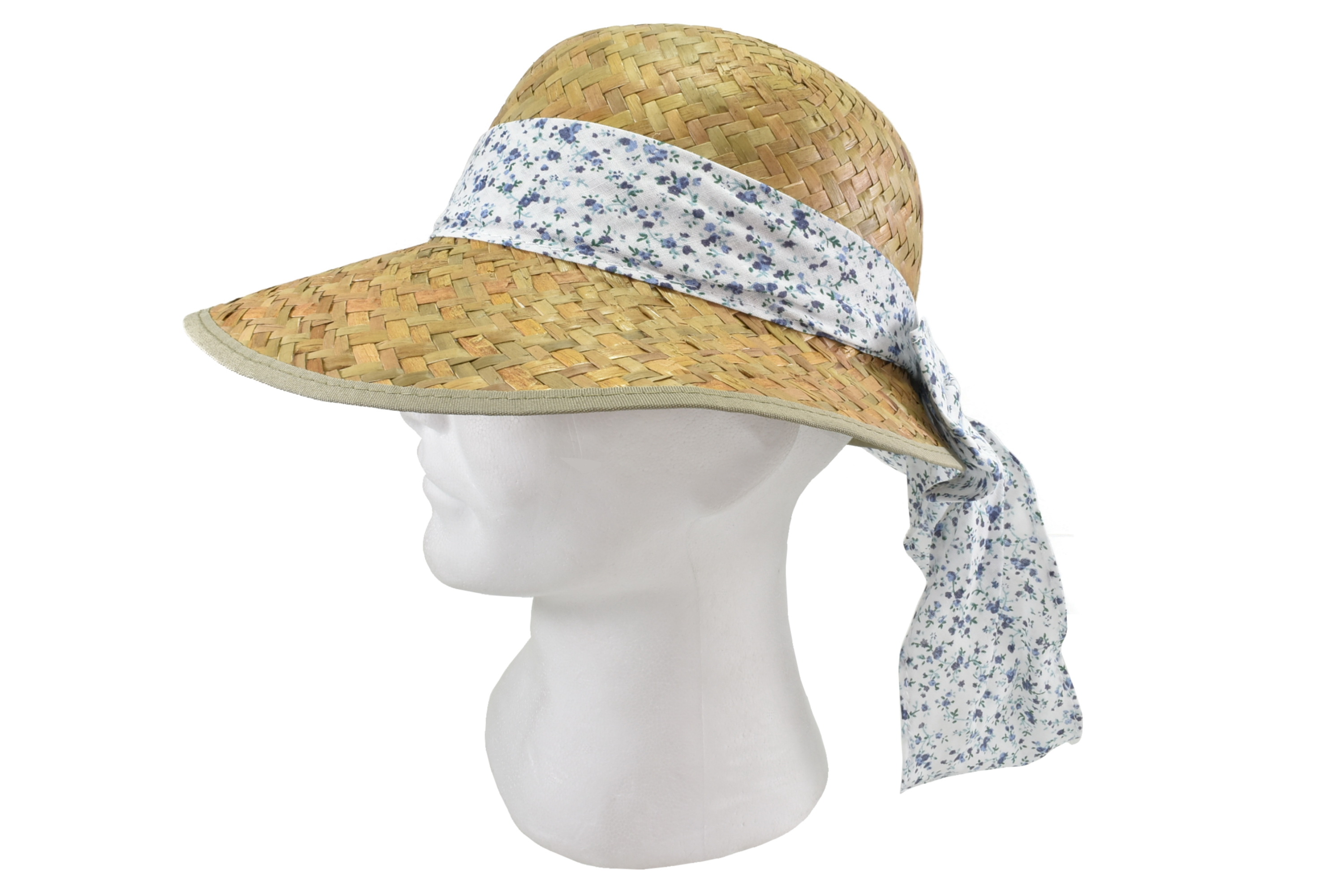 Ladies Sunflower Straw Hat With Bow