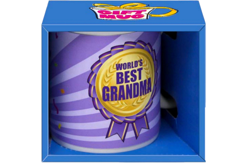 World Best Grandma Mug Gift Boxed