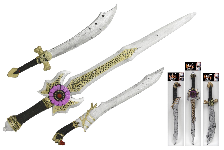 Eva Sword On Hangcard - 3 Assorted