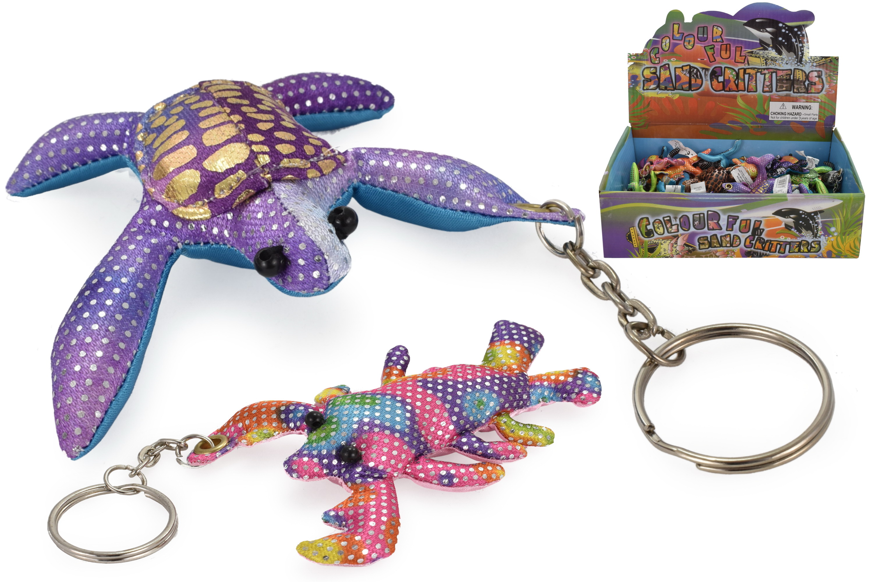 "2"" Sand Animal Keyring In Display Box"