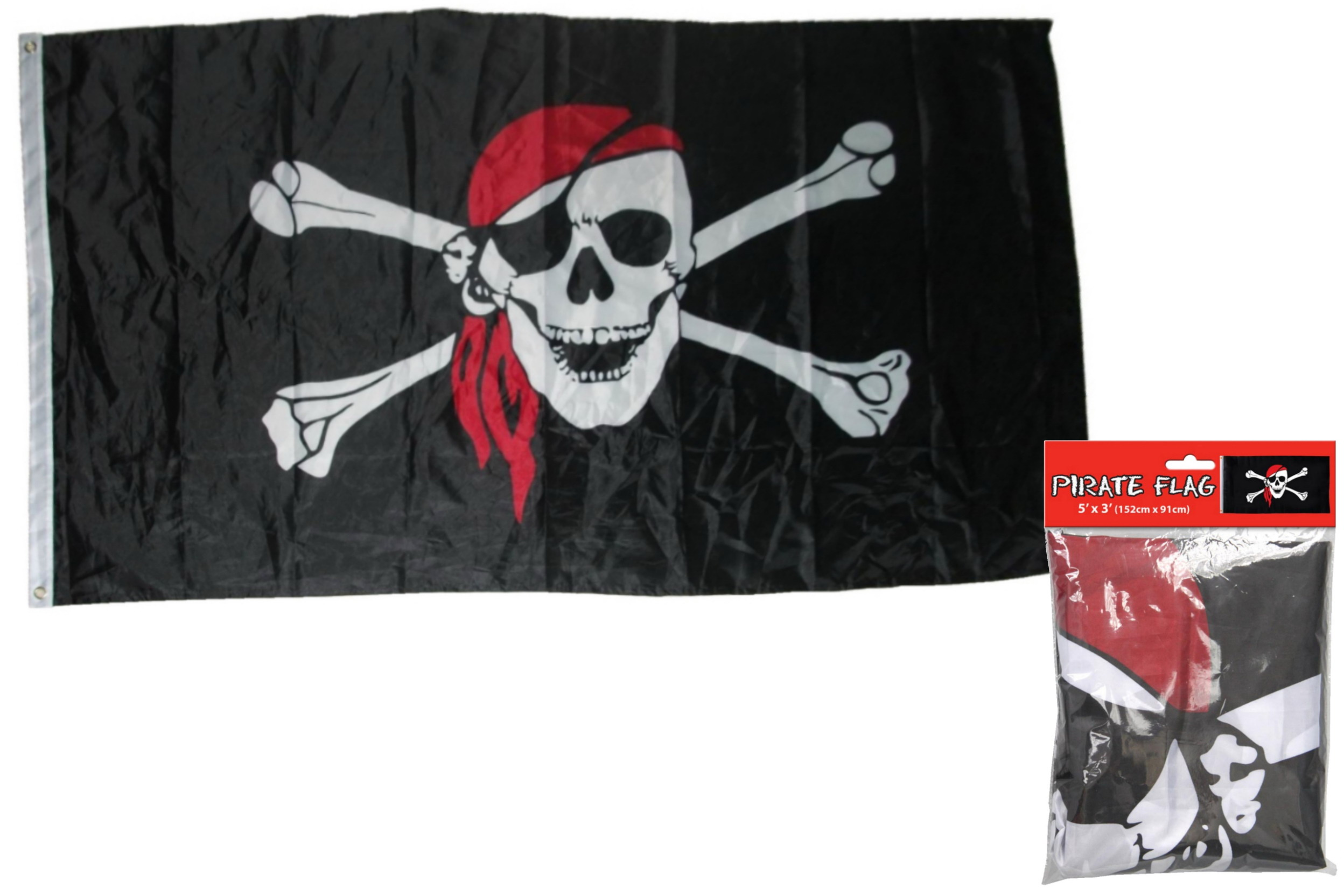 5' x 3' Pirate Flag