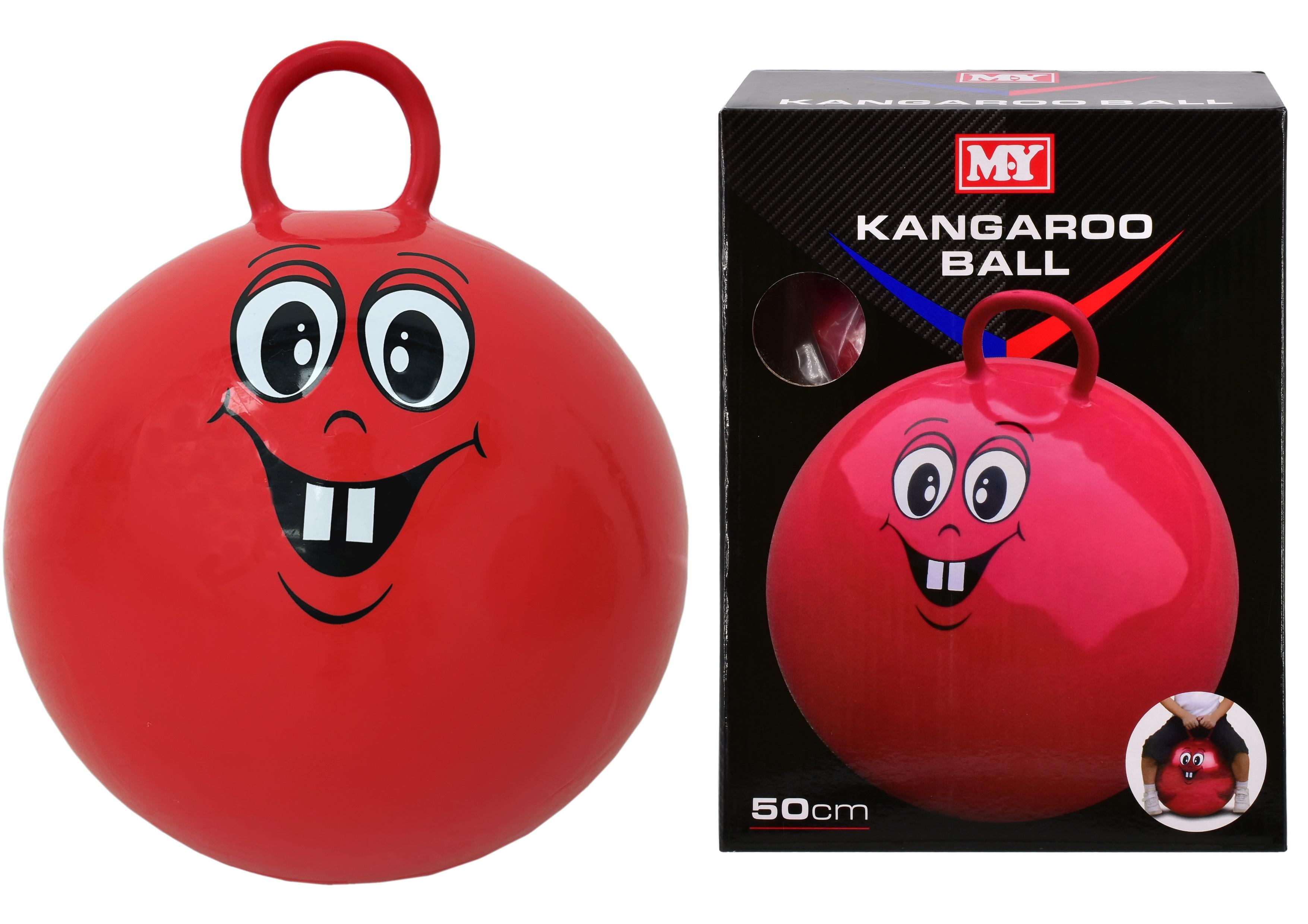 "50cm Kangaroo Ball In Colour Box 500gm ""M.Y"""