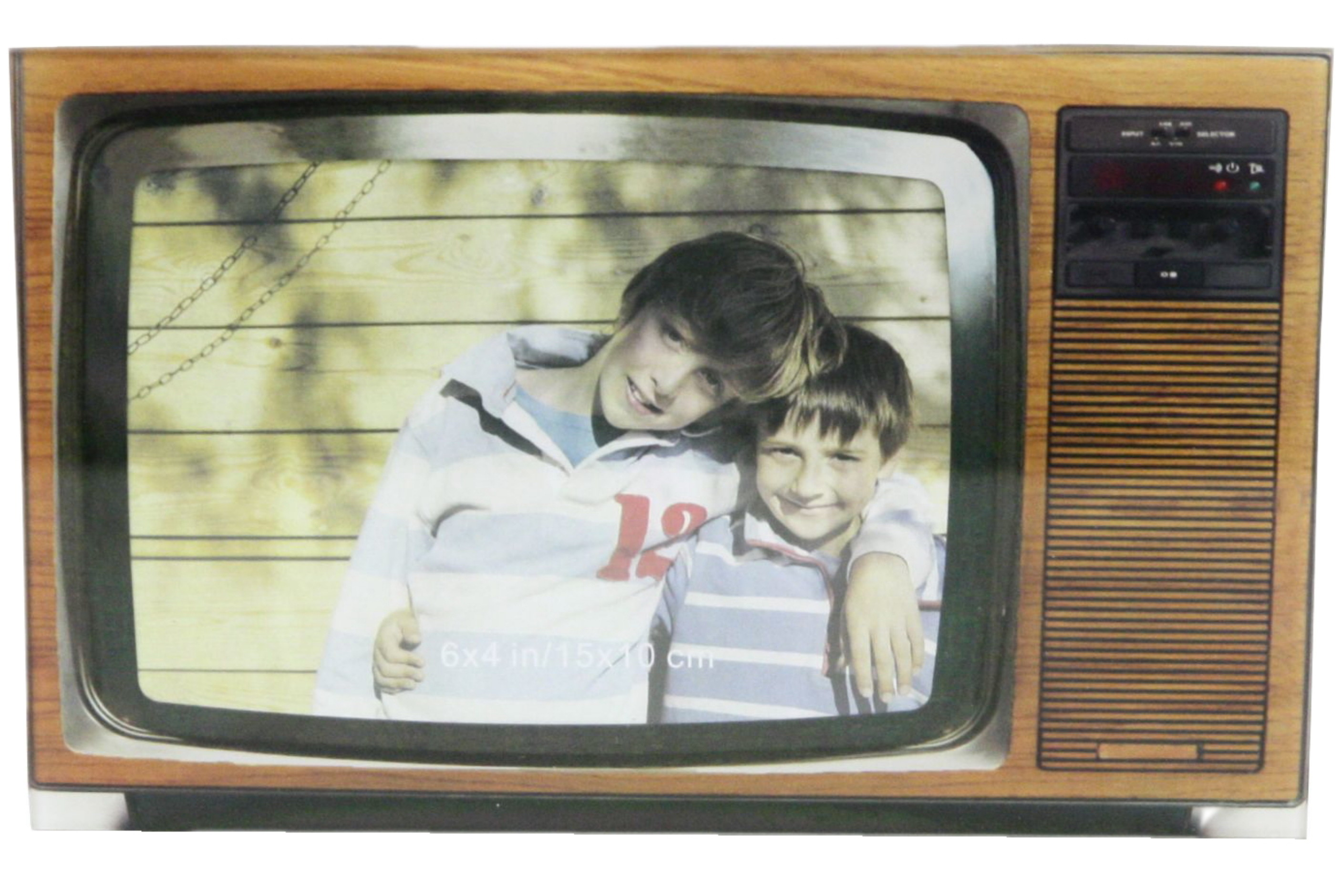Glass Picture Frame Retro Tv Style 2 Assorted