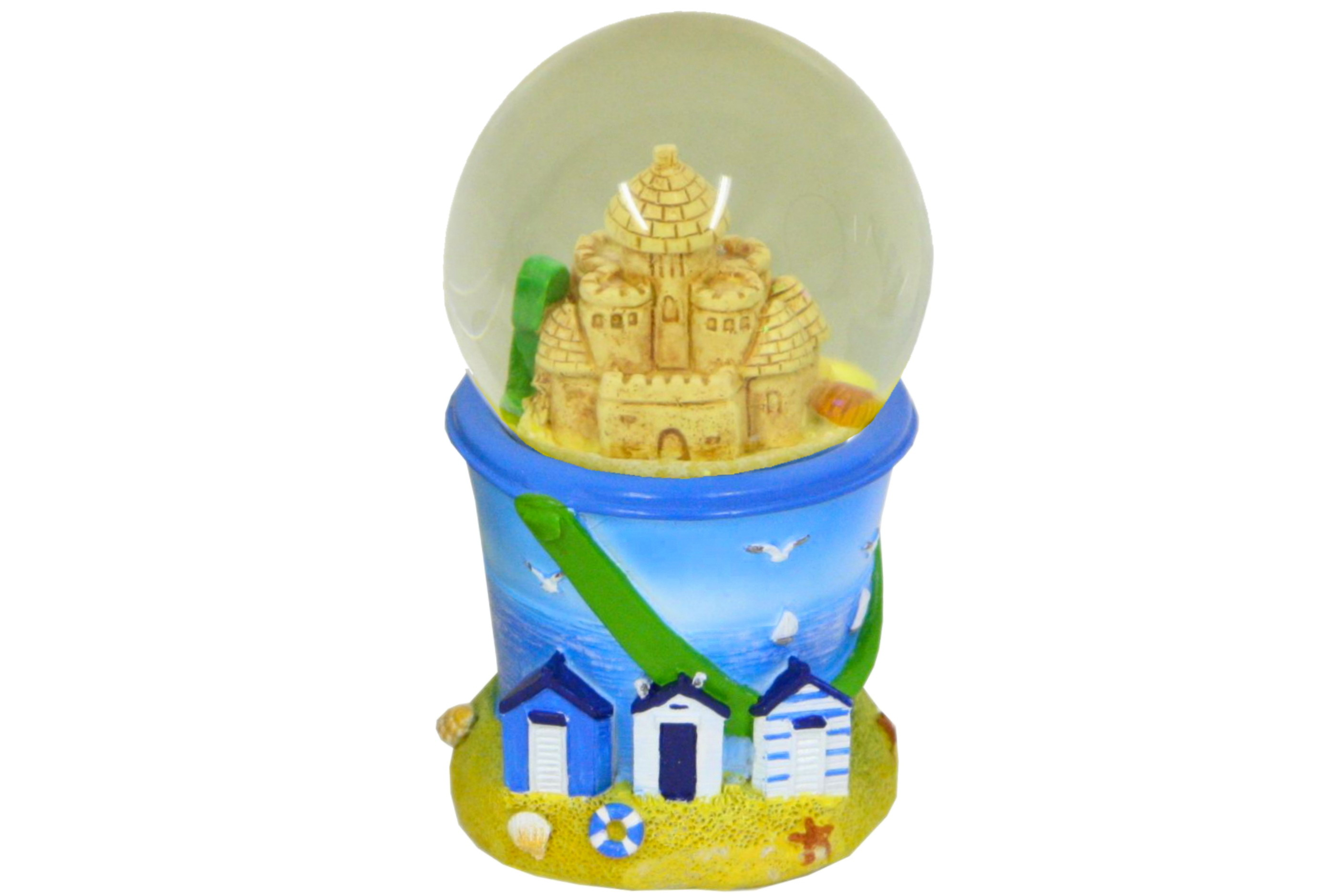 Sand Castle Waterball With Bucket Base 65mm