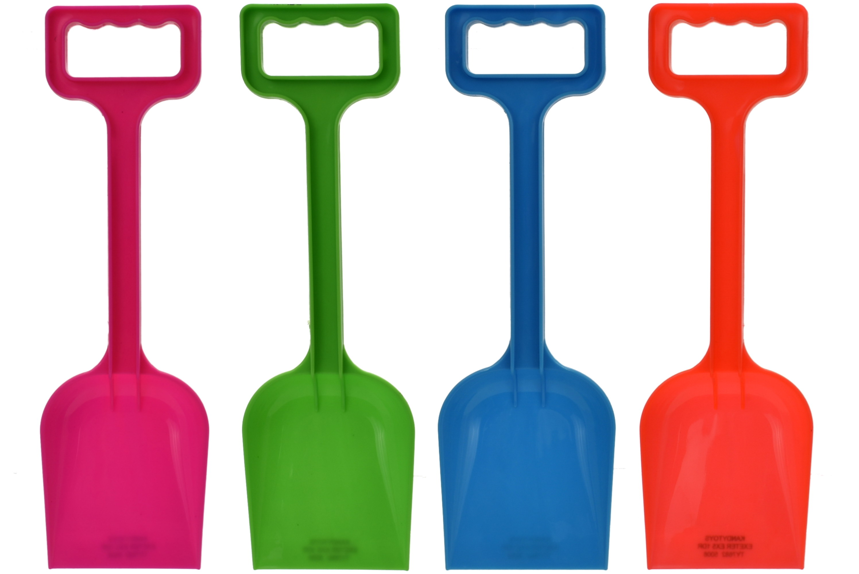 "33cm/13"" Plastic Spade - Assorted Colours ""Nalu"""