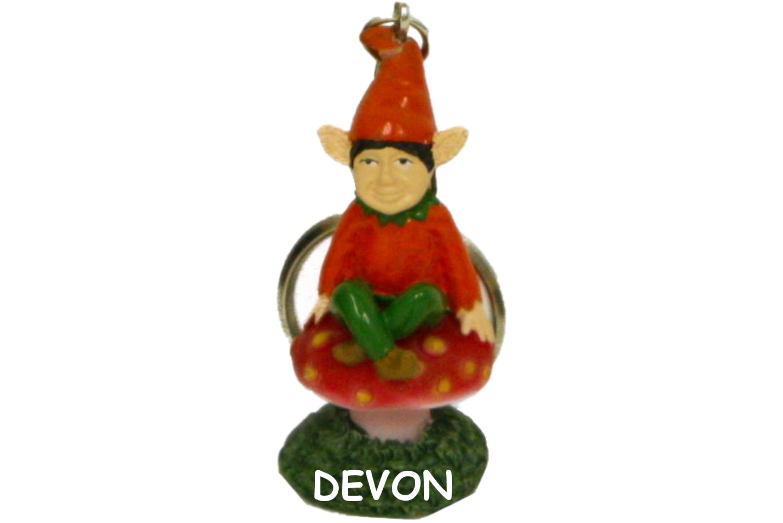 Devon Pixie Polyresin Keychain 5cm