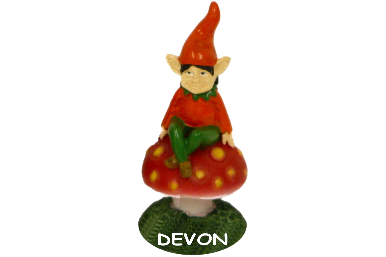 Devon Pixie Polyresin Ornament 7cm