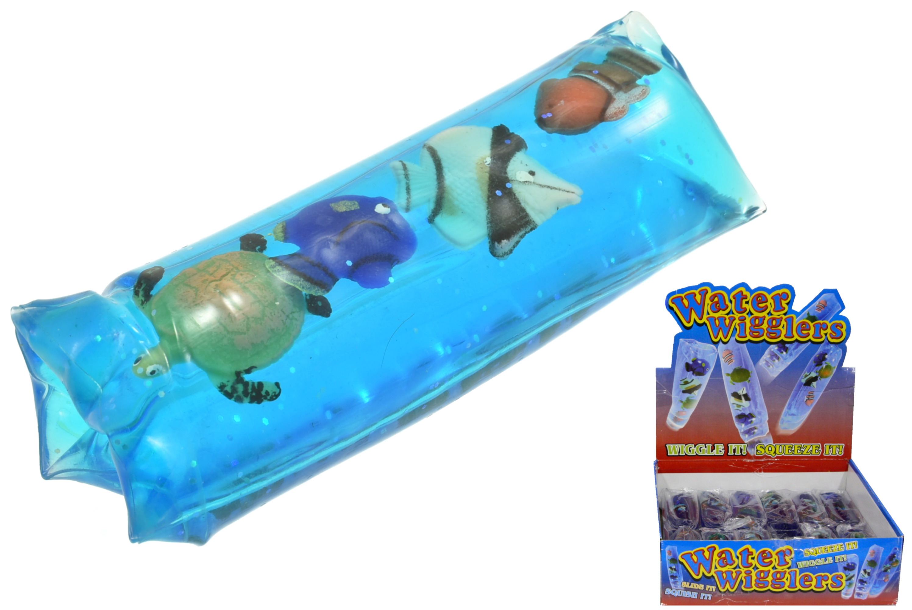 Water Wiggler With Sea Animals In Display Box