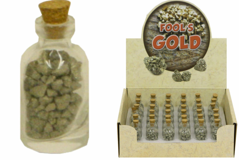 70g Fool's Gold In Glass Bottle
