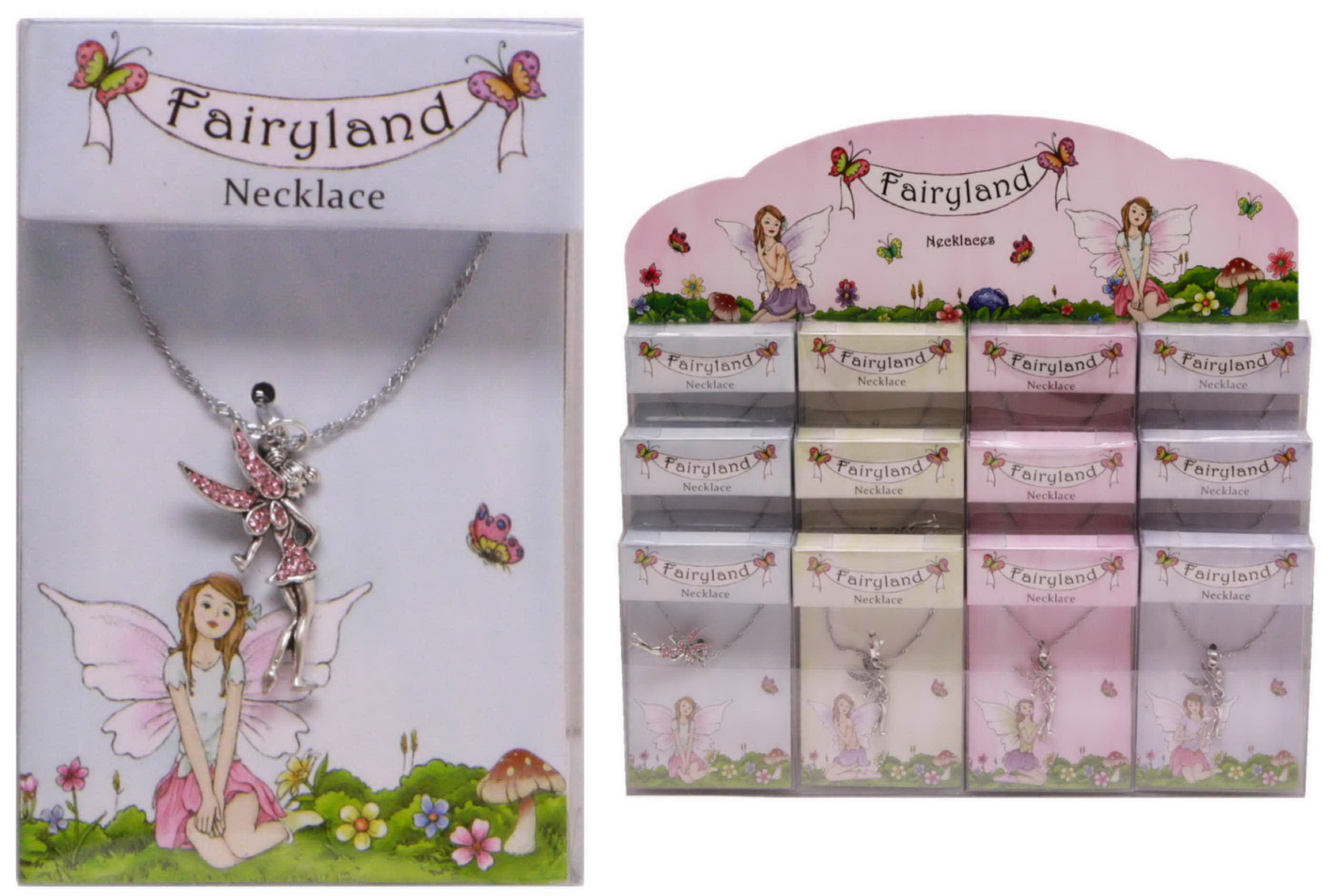 Fairyland Necklaces In Acetate Box In Display Box