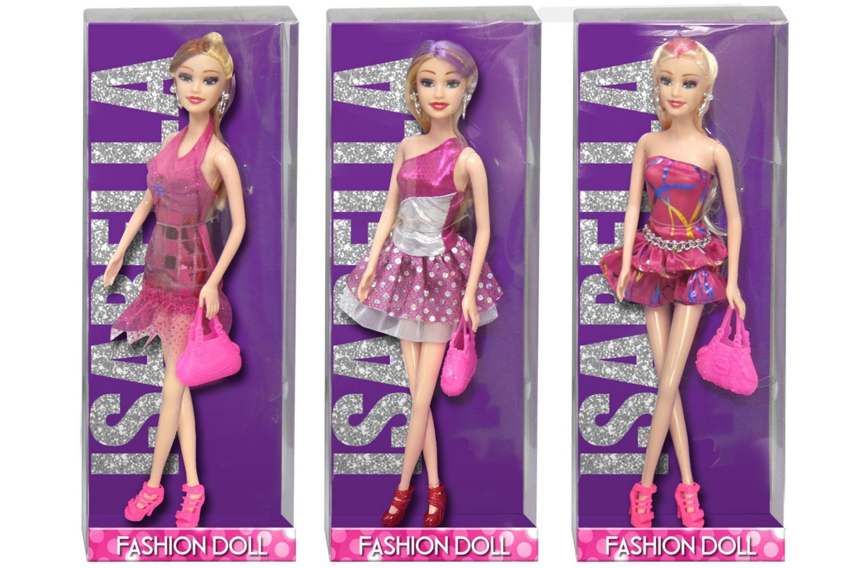 Bendable Fashion Doll (3 Assorted) In Window Box