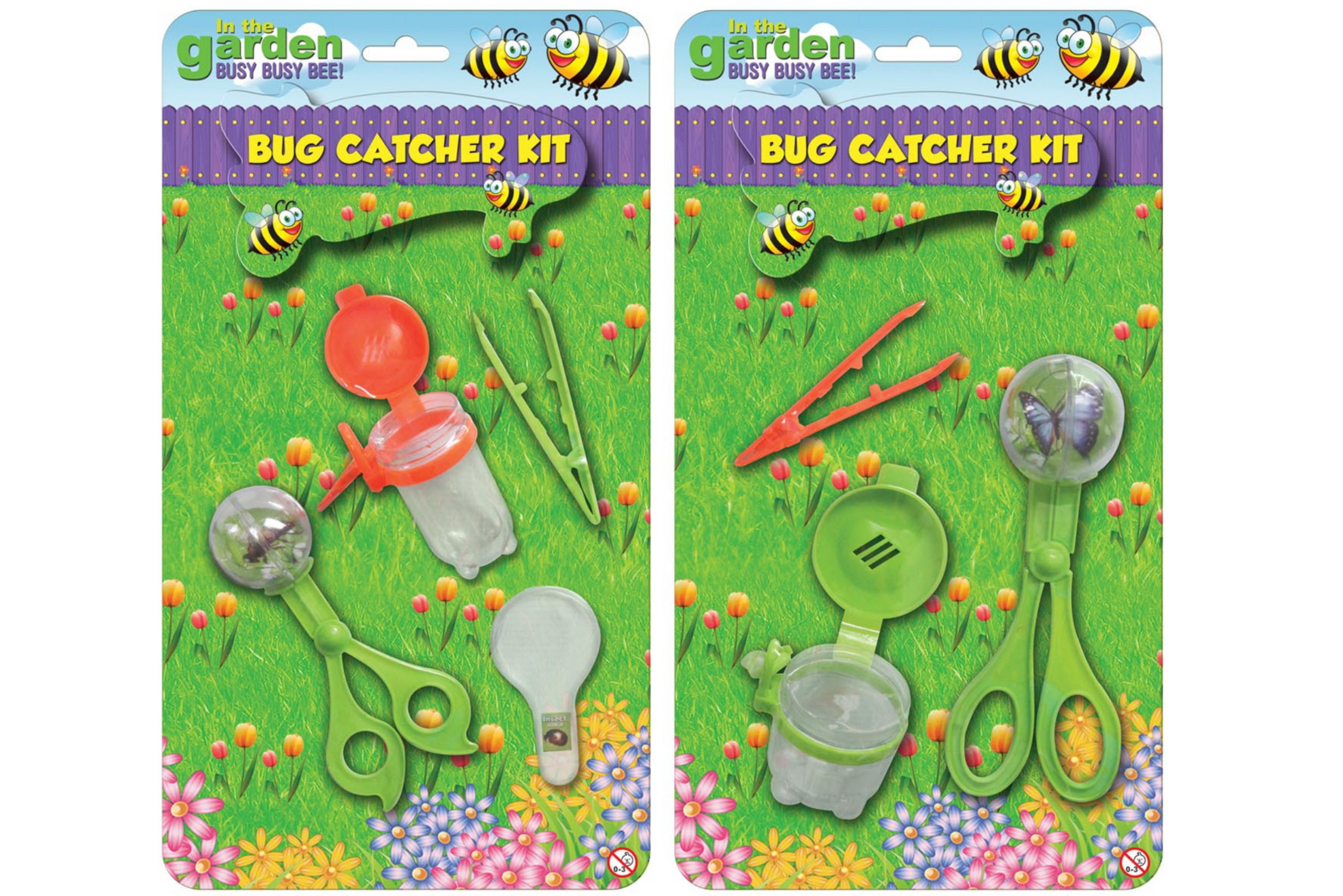 "Bug Catcher Kit (2 Asst) On B/Card ""In The Garden"""