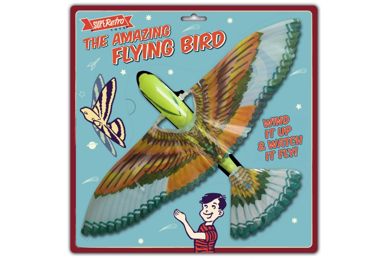 "The Amazing Flying Bird (2 Asst) On Blistercard ""Retro"""