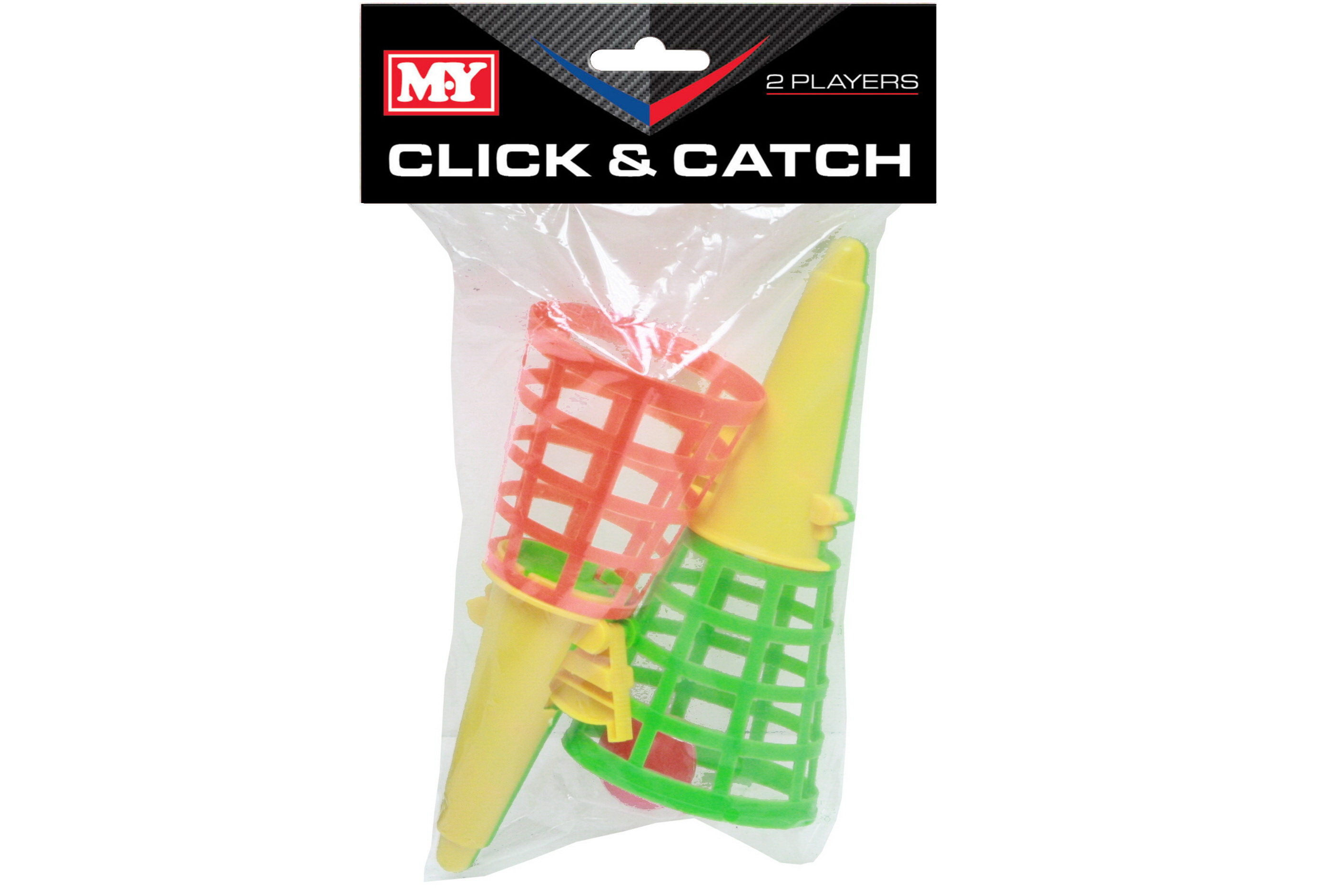 "Click & Catch Game In Pvc Bag / Headercard ""M.Y"""