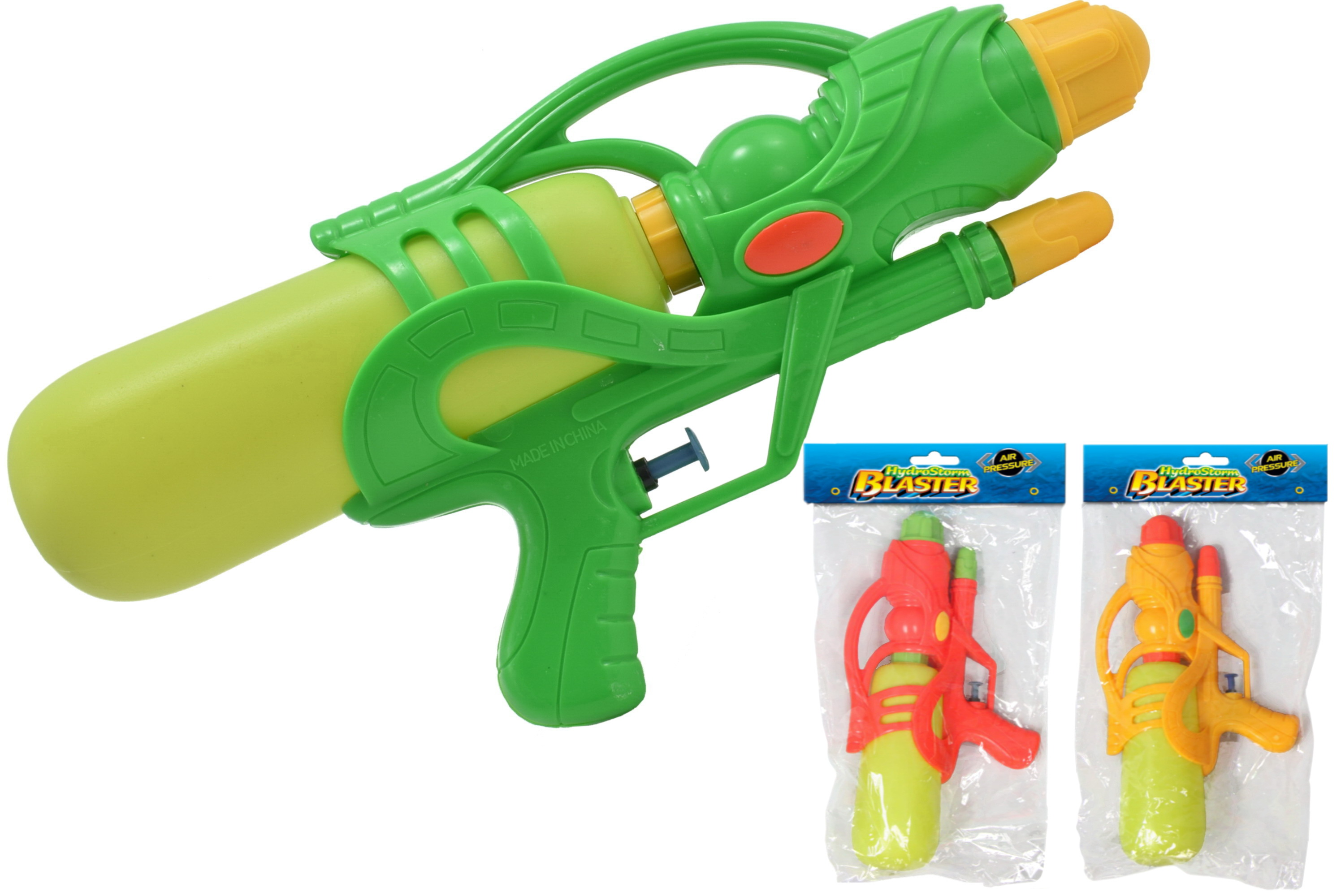 "28cm Watergun (3 Assorted Colours) ""Hydrostorm"""