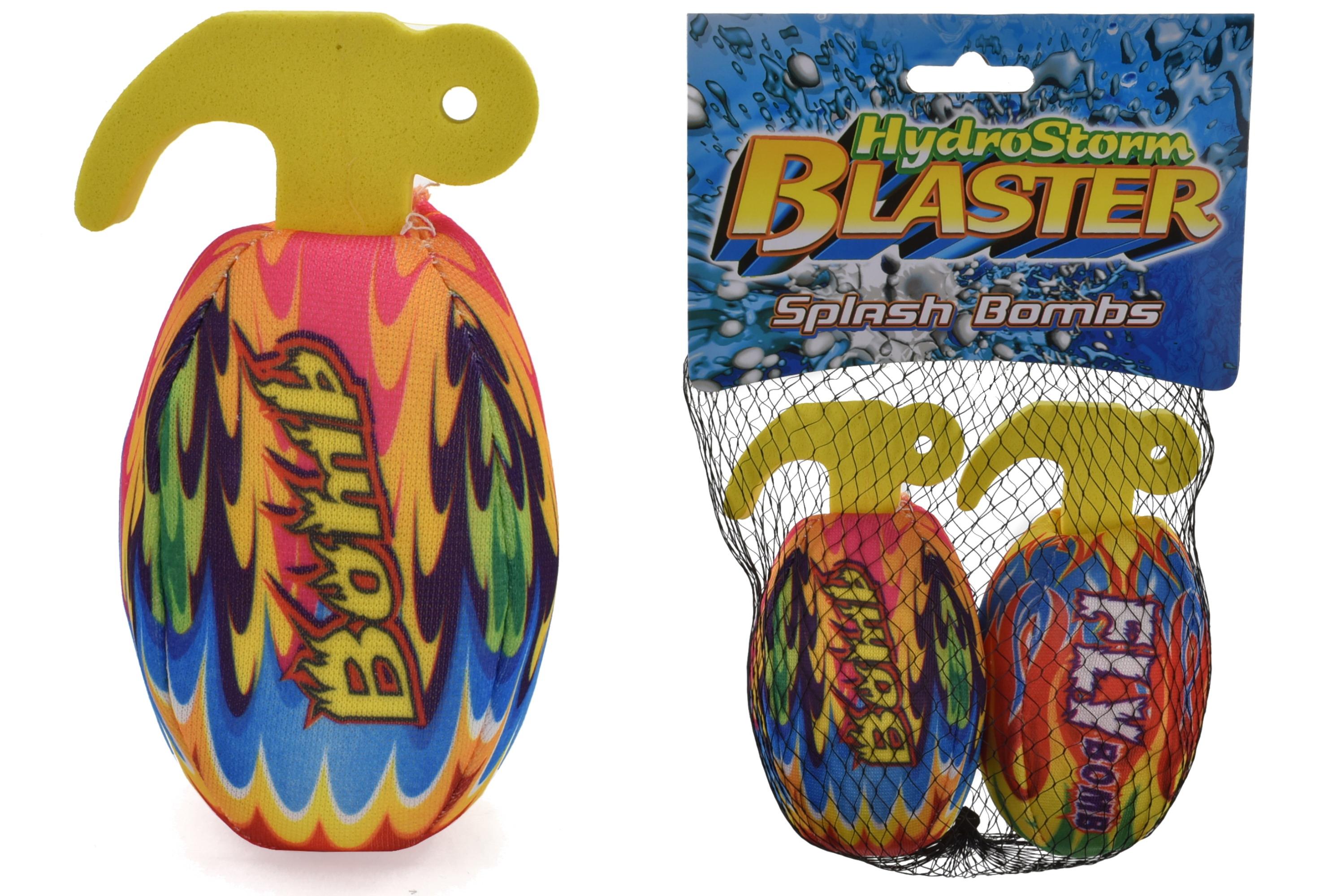 "2pc Hand Grenade Splash Ball In Net Bag/Header ""Hydro"""