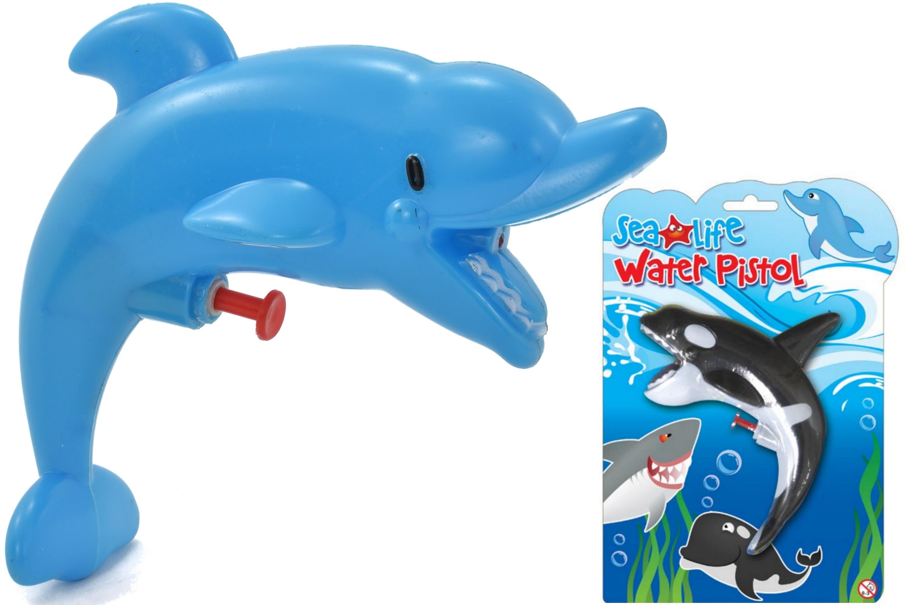 Sealife Water Pistol (3 Assorted) On Blistercard