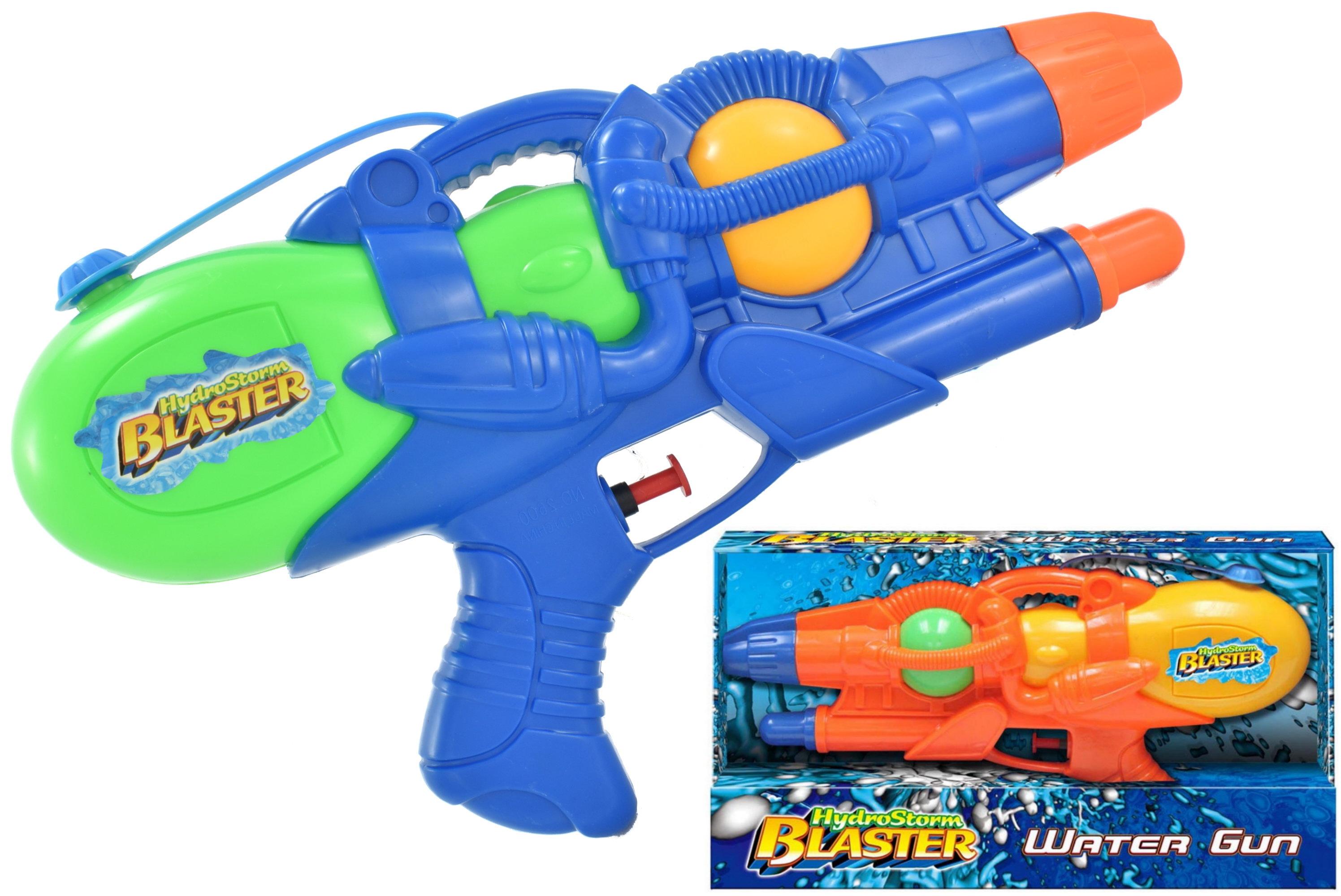 "32cm Watergun (2 Asst) In Open Touch Box ""Hydrostorm"""