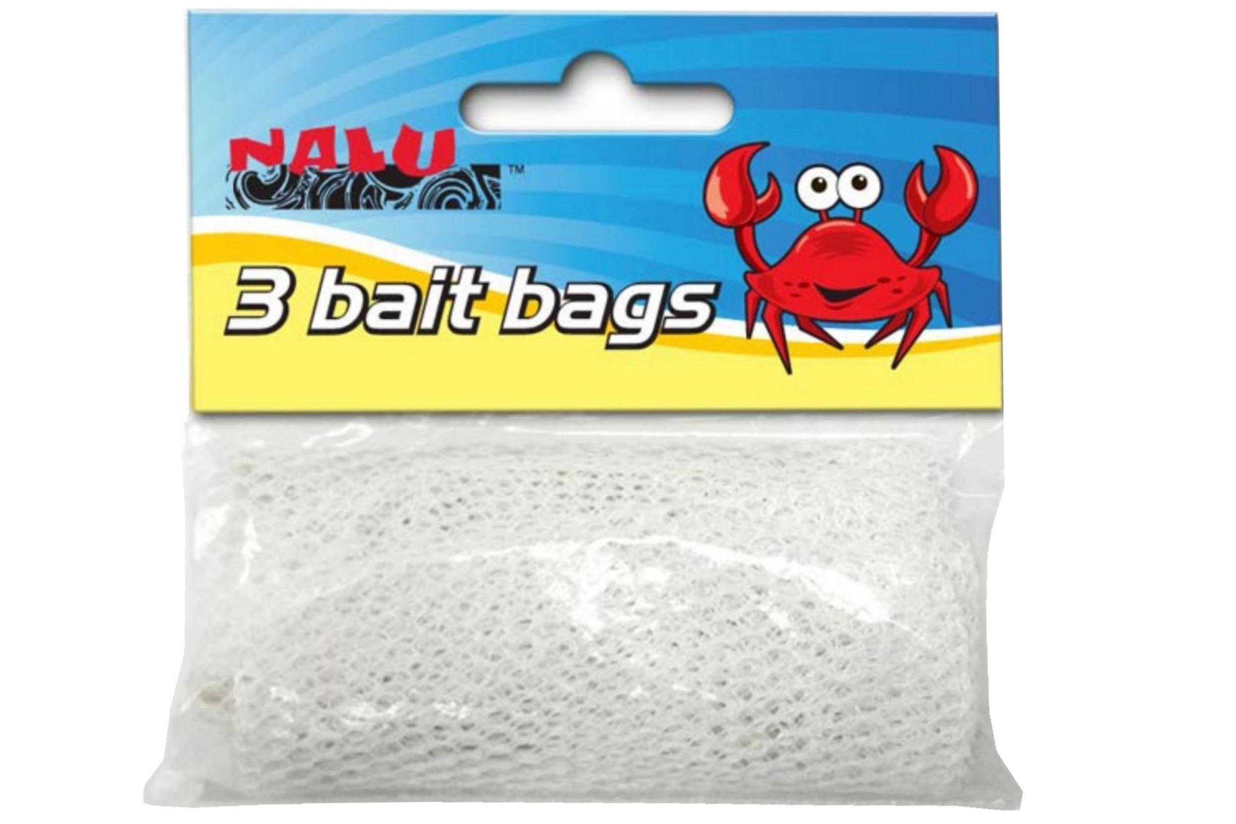 3pc Bait Bags In Pvc Bag Header