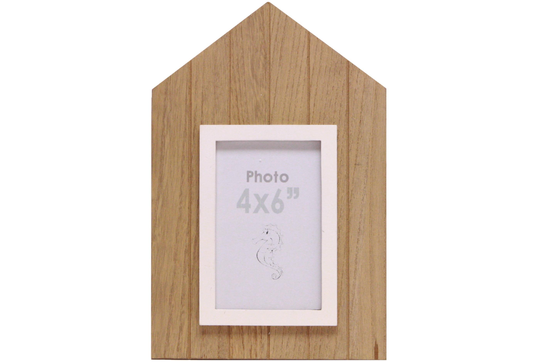 30cm Beach Hut Photo Frame 30 x 20cm