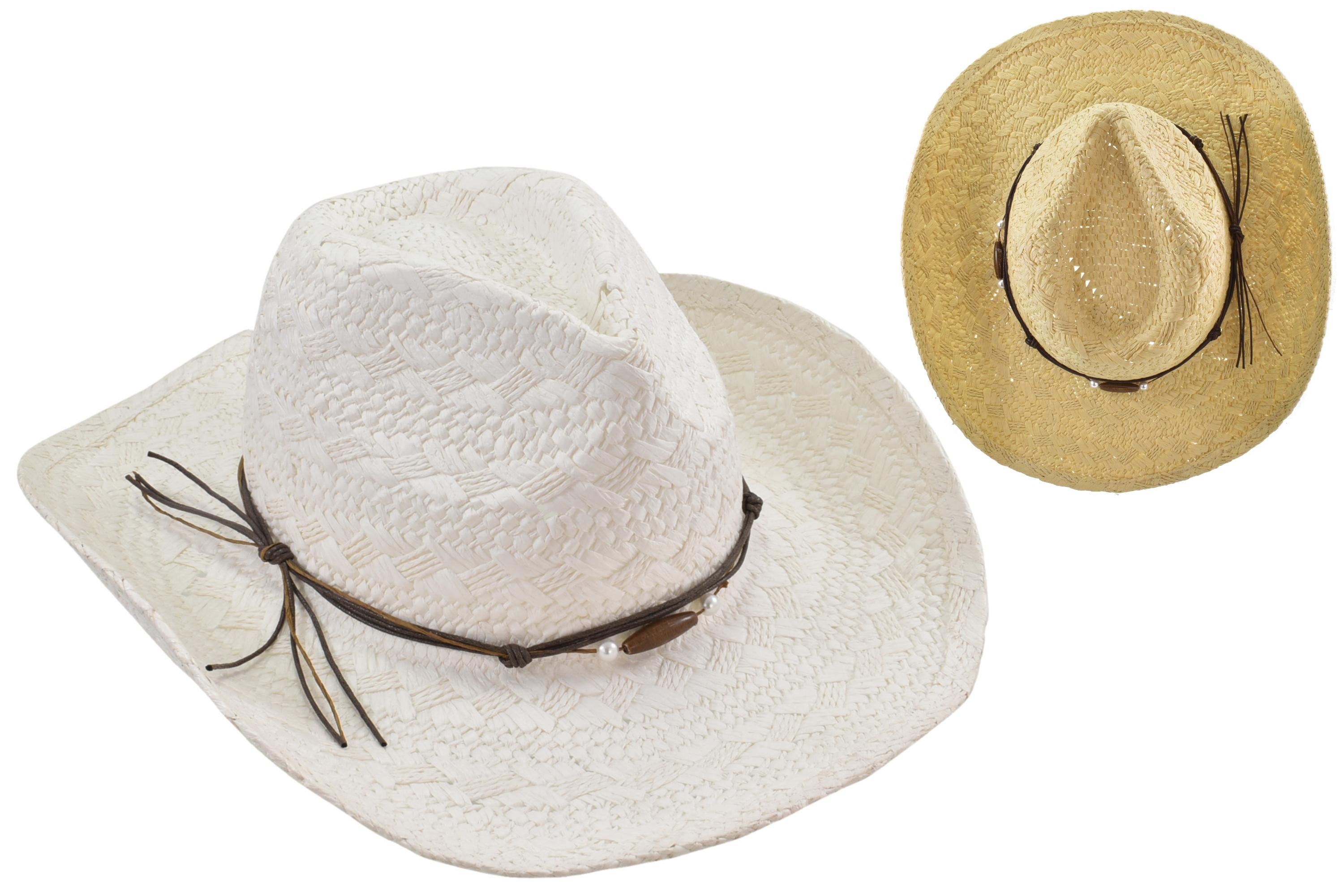Fashion Cowboy Hat - 2 Assorted Colours