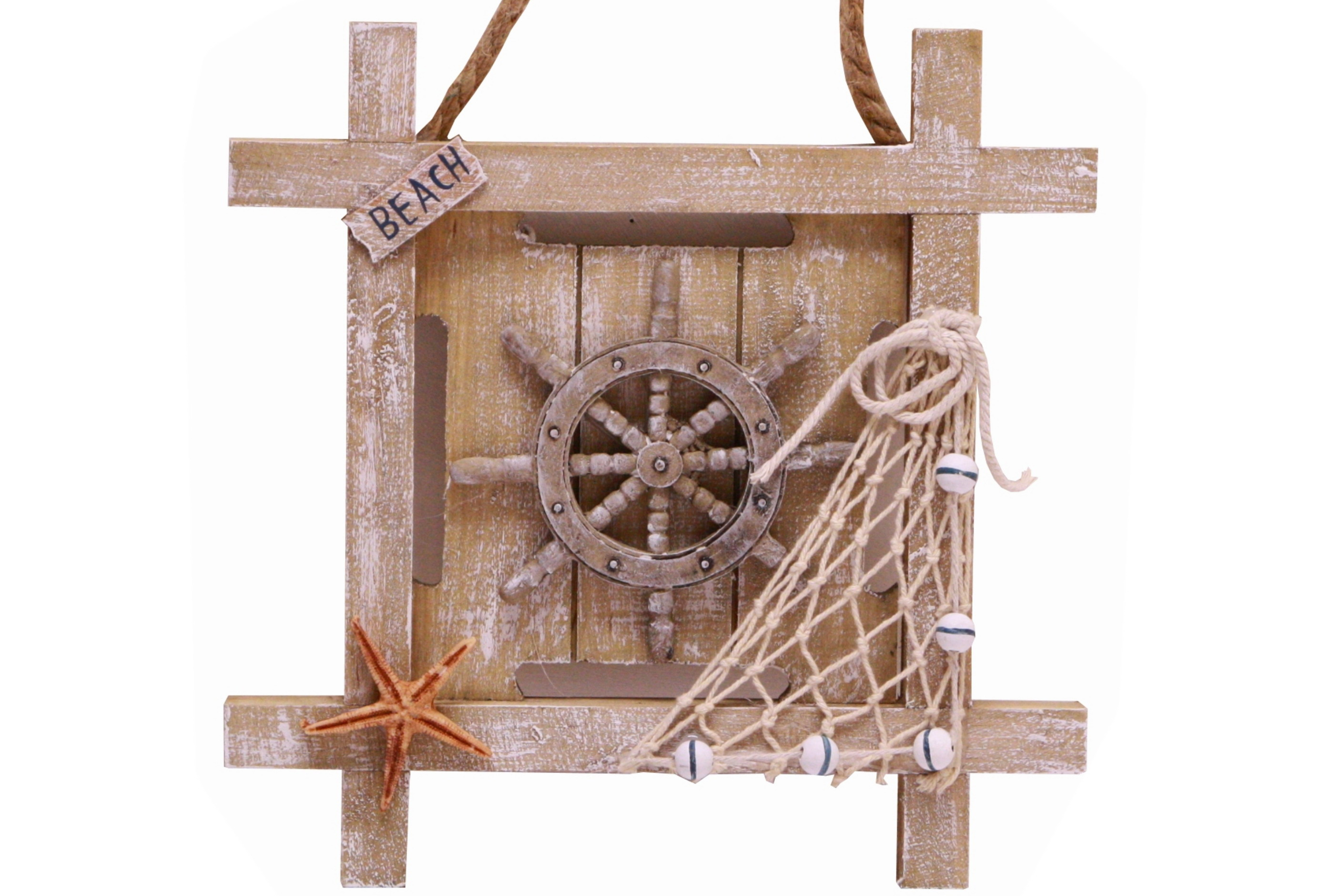 Nautical Wooden Hanger - 4 Assorted Designs
