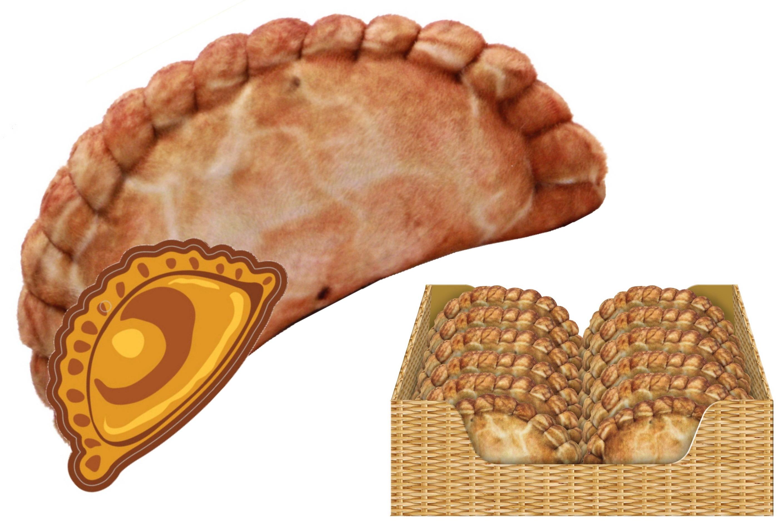 15cm Plush Pasty In Display Box