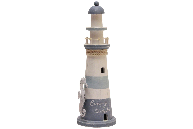 38cm Wood Lighthouse