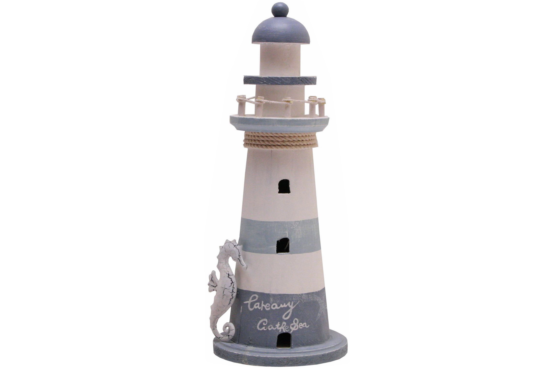 41cm Wood Lighthouse
